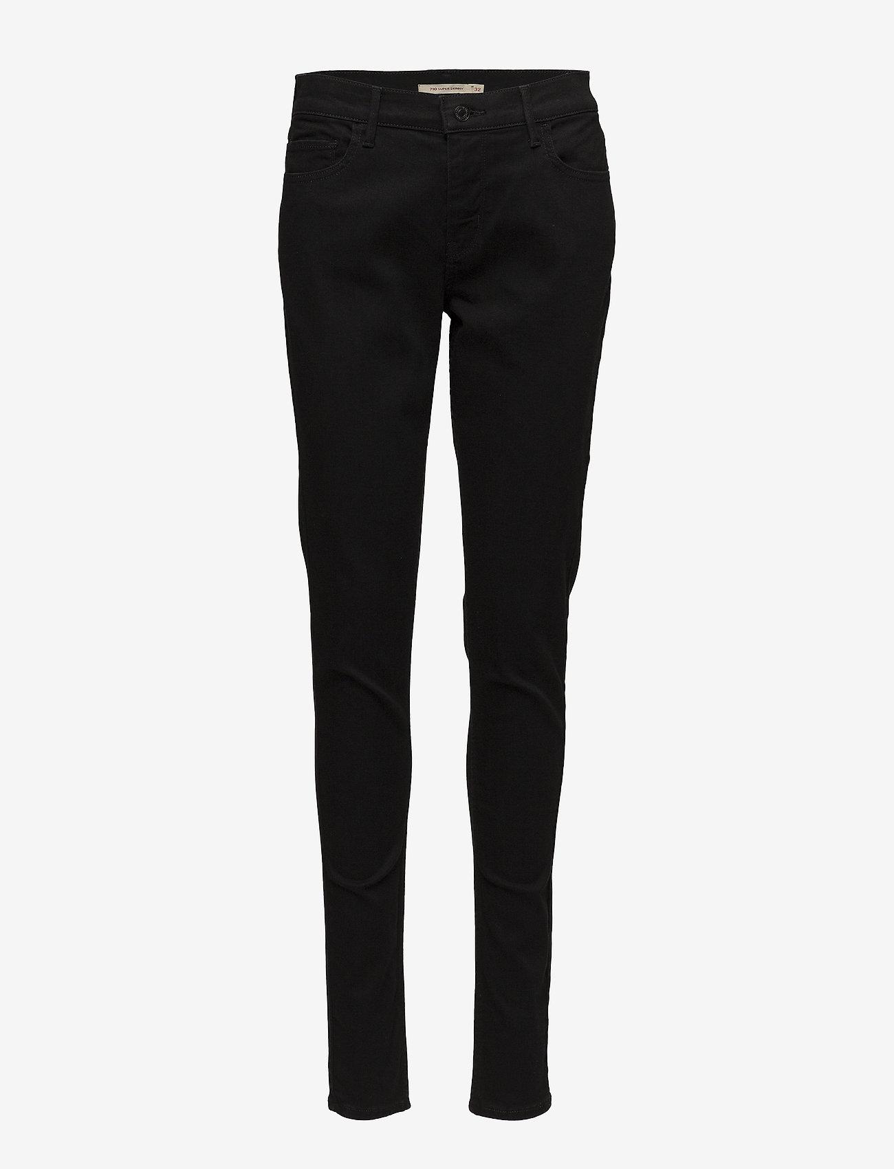 LEVI´S Women - INNOVATION SUPER SKINNY BLACK - skinny jeans - blacks - 0