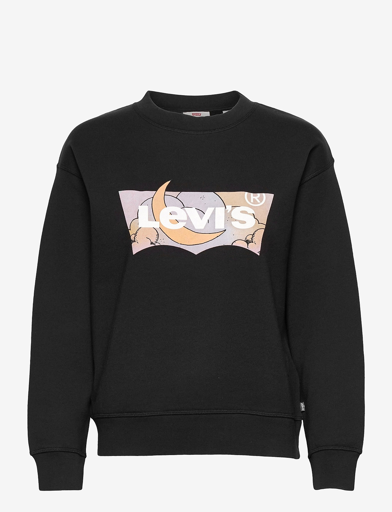 LEVI´S Women - GRAPHIC STANDARD CREW CREW BAT - sweatshirts & hættetrøjer - blacks - 0