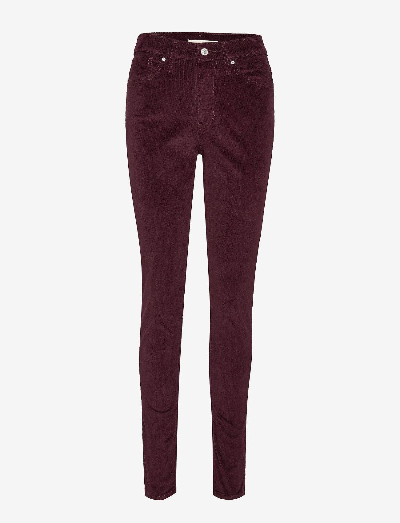 LEVI´S Women - 721 HIGH RISE SKINNY MALBEC LU - broeken med skinny fit - reds - 0