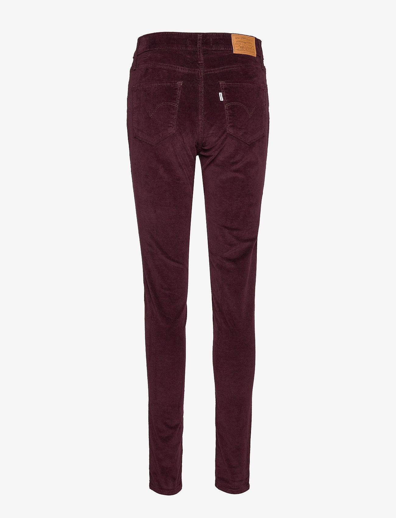 LEVI´S Women - 721 HIGH RISE SKINNY MALBEC LU - broeken med skinny fit - reds - 1
