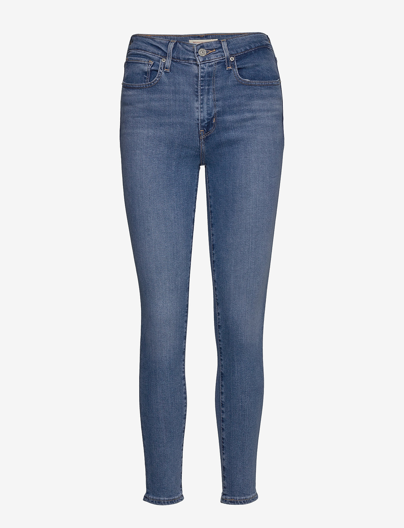 LEVI´S Women - 721 HIGH RISE SKINNY RIO HUSTL - skinny jeans - light indigo - worn in - 1