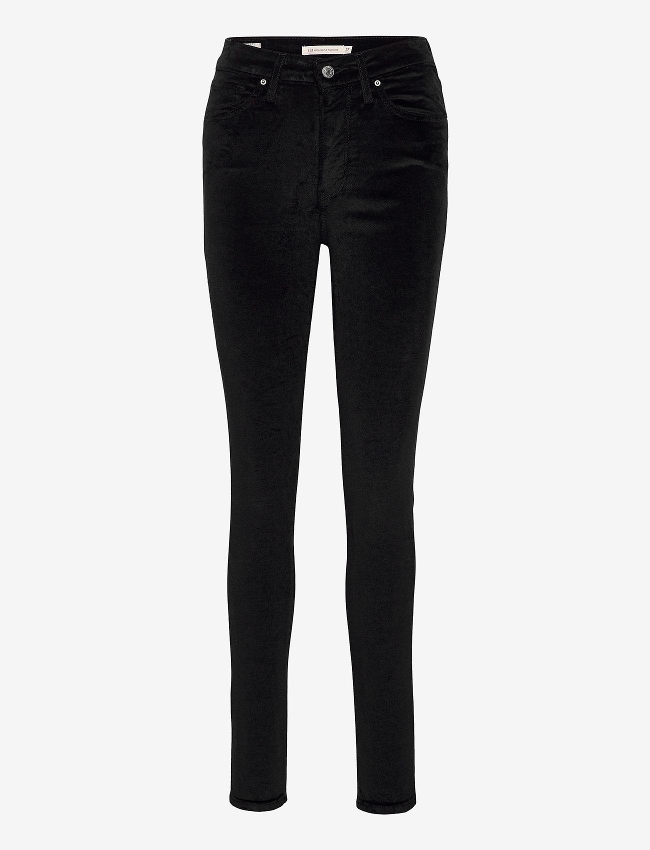 LEVI´S Women - 721 HIGH RISE SKINNY COMFORT V - skinny jeans - blacks - 1