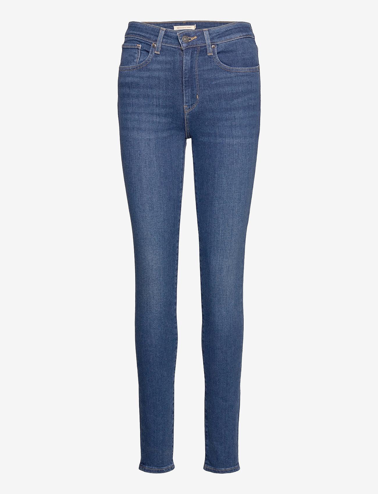 LEVI´S Women - 721 HIGH RISE SKINNY GOOD EVEN - skinny jeans - dark indigo - worn in - 0