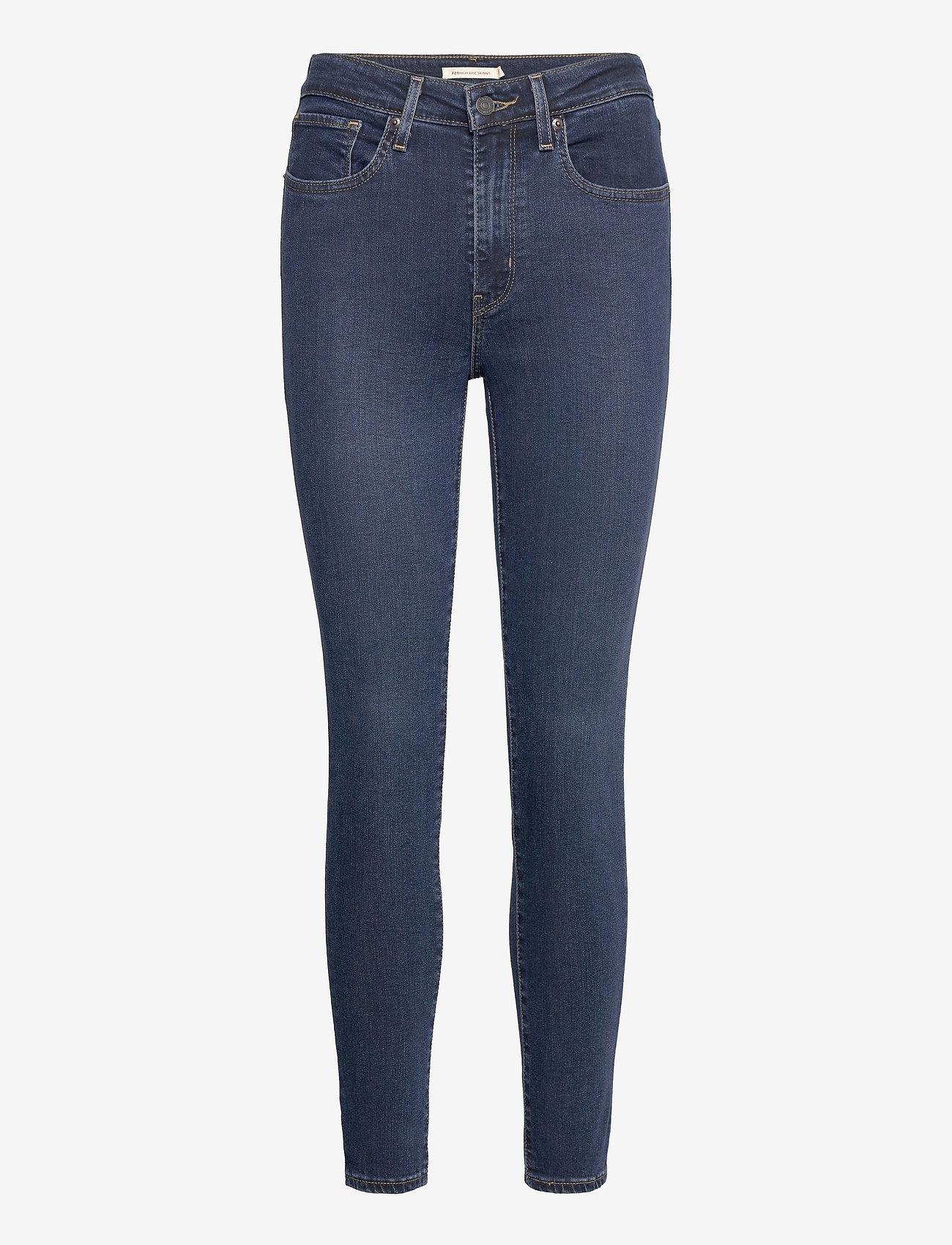 LEVI´S Women - 721 HIGH RISE SKINNY SANTIAGO - skinny jeans - dark indigo - worn in - 0