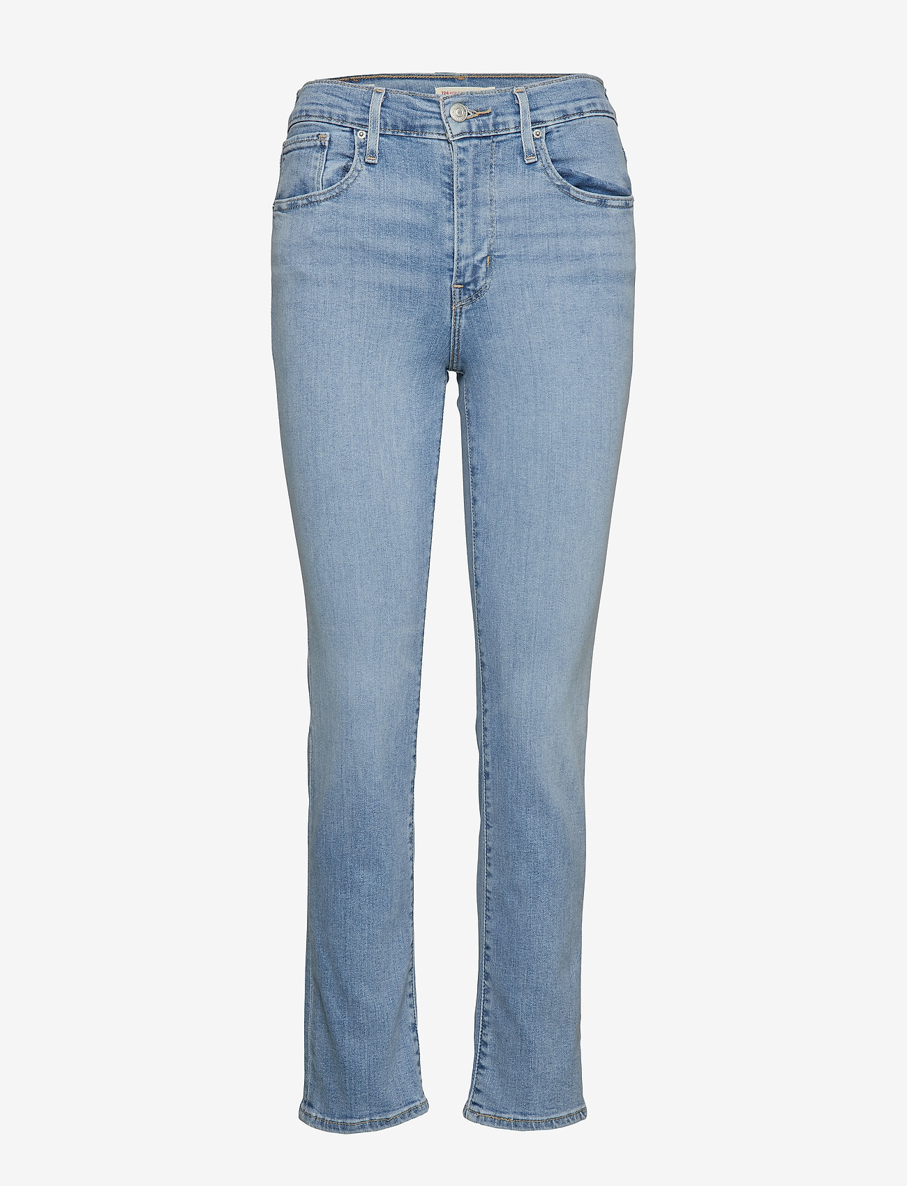 LEVI´S Women - 724 HIGH RISE STRAIGHT SAN FRA - slim jeans - light indigo - worn in - 0