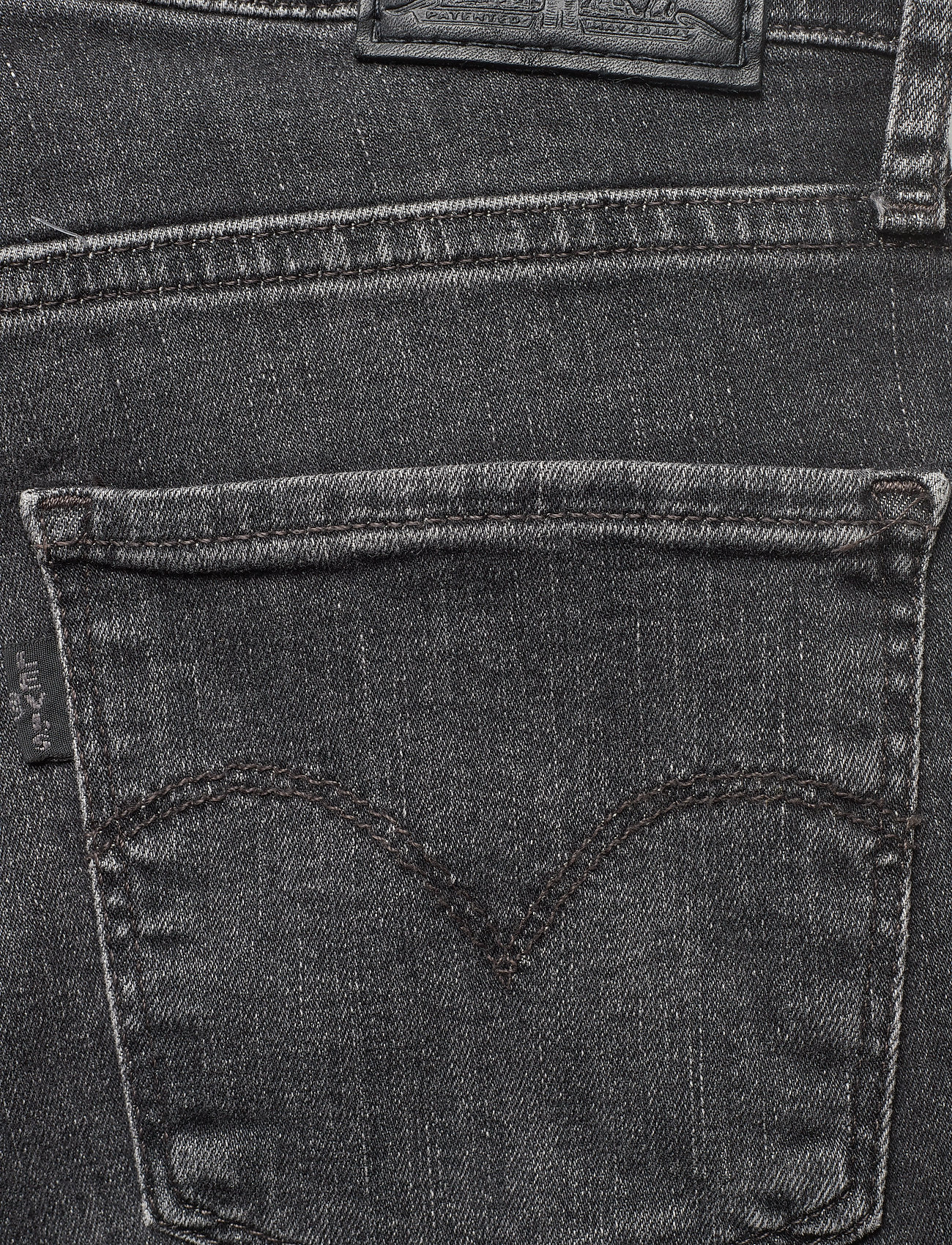 LEVI´S Women - 724 HIGH RISE STRAIGHT END OF - straight regular - med indigo - worn in - 4
