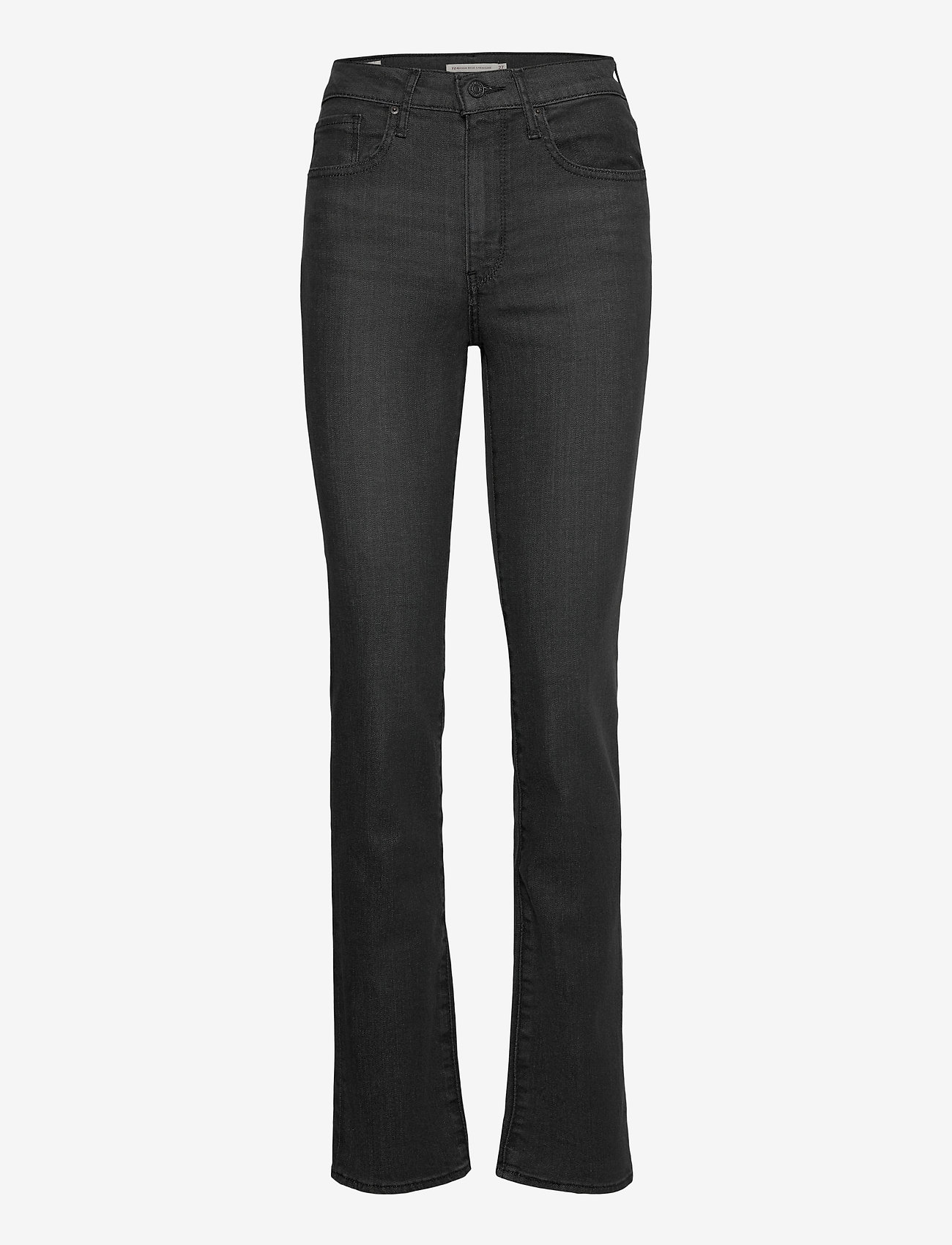 LEVI´S Women - 724 HIGH RISE STRAIGHT BLACK H - straight regular - blacks - 0