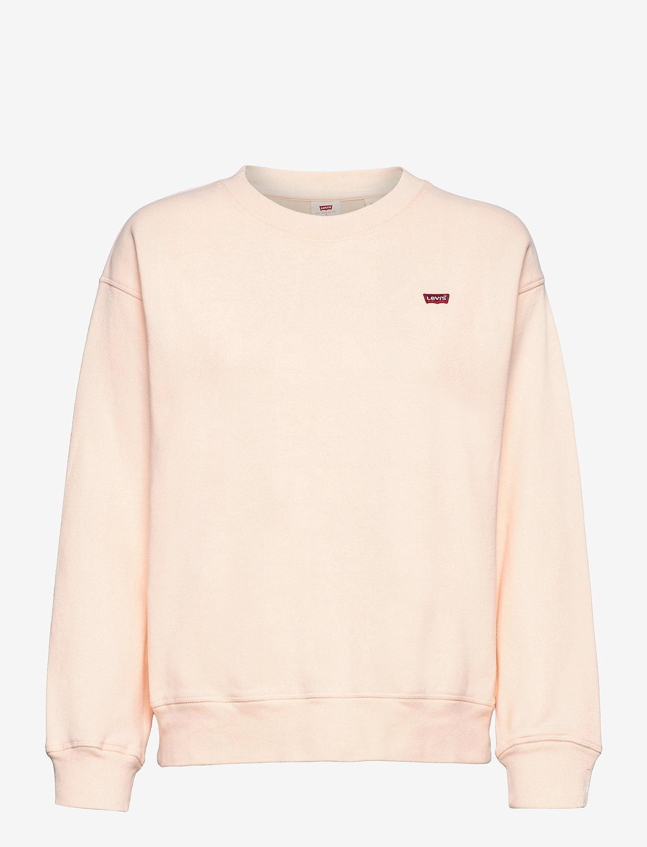 LEVI´S Women - STANDARD CREW SCALLOP SHELL - sweatshirts & hættetrøjer - reds - 0