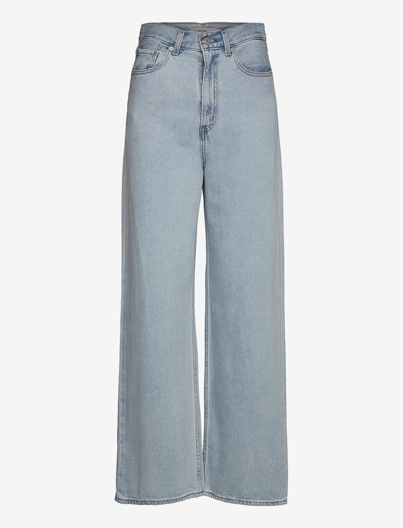 LEVI´S Women - HIGH LOOSE LOOSEY GOOSEY - broeken met wijde pijpen - light indigo - flat finis - 0