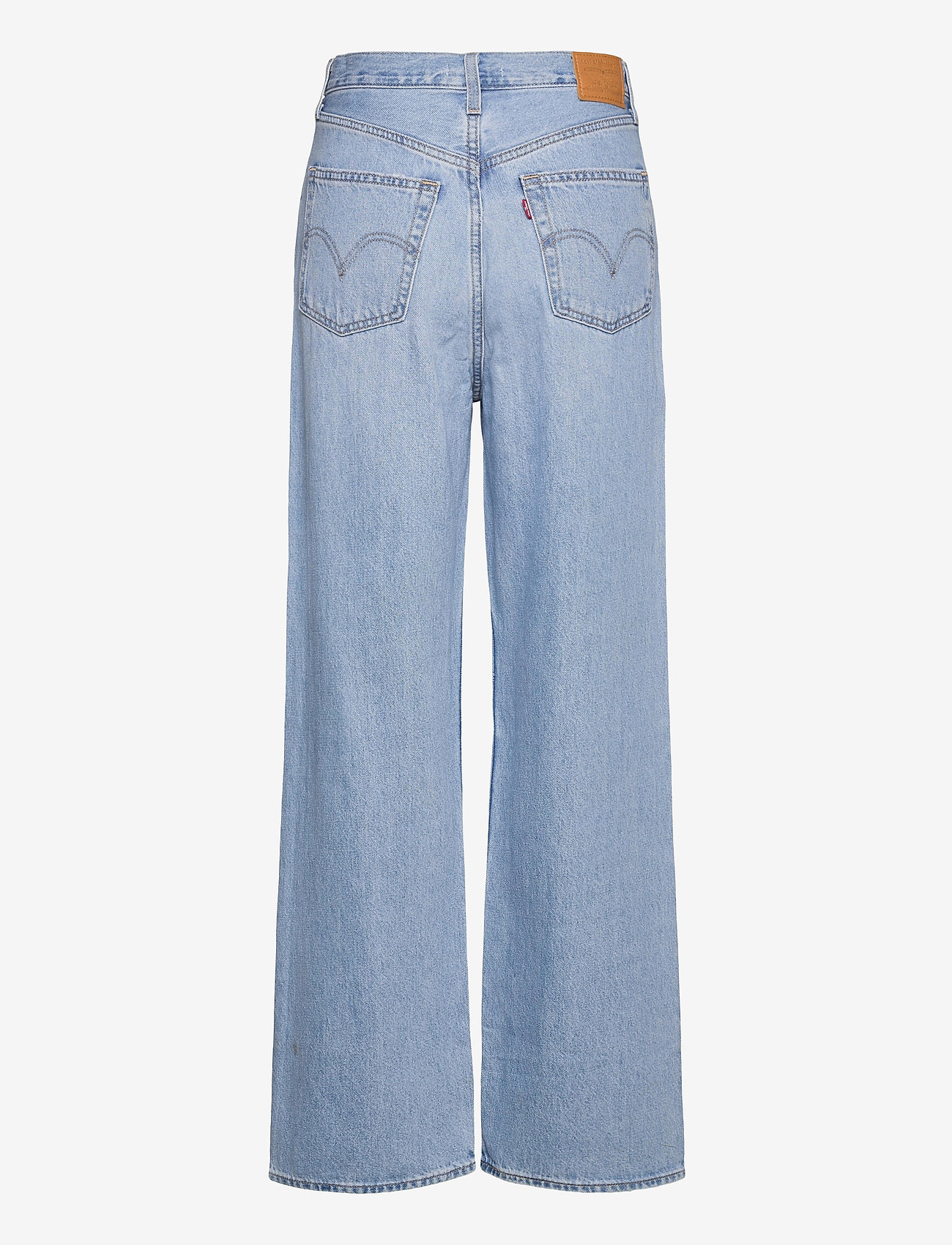 LEVI´S Women - HIGH LOOSE FULL CIRCLE - brede jeans - med indigo - worn in - 1