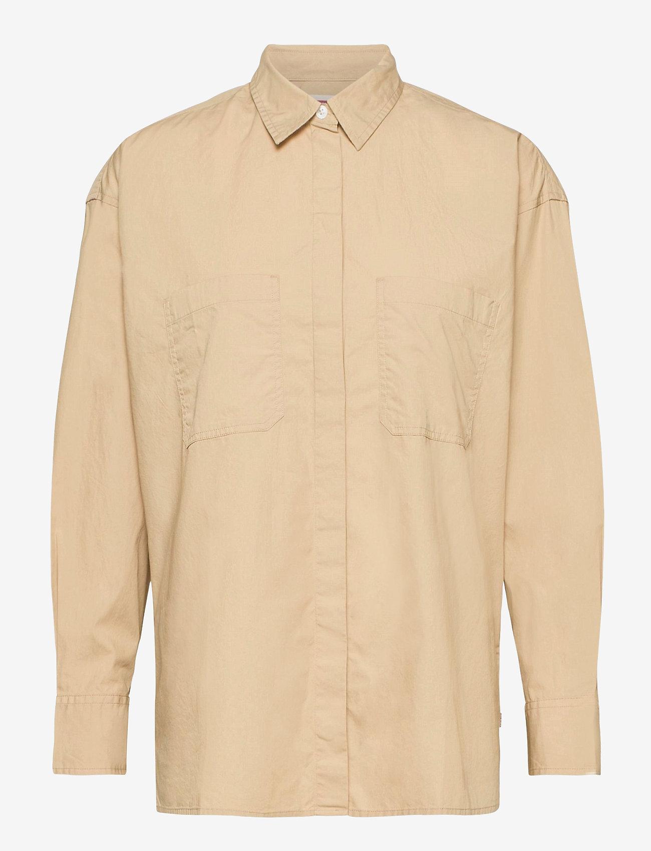 LEVI´S Women - EUNICE UTILITY SHIRT SAFARI - langærmede skjorter - neutrals - 0