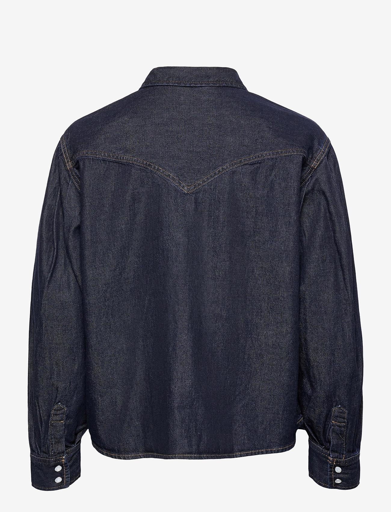 LEVI´S Women - PAYTON LS WESTERN TONGUE TWIST - jeansblouses - dark indigo - flat finish - 1