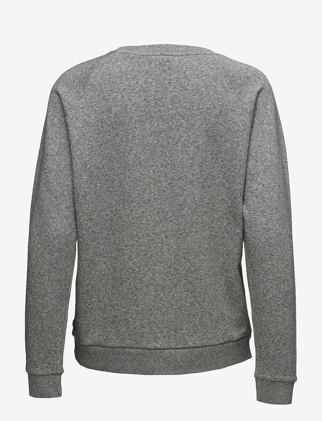 LEVI´S Women - RELAXED GRAPHIC CREW FLEECE BA - sweatshirts - greys - 1