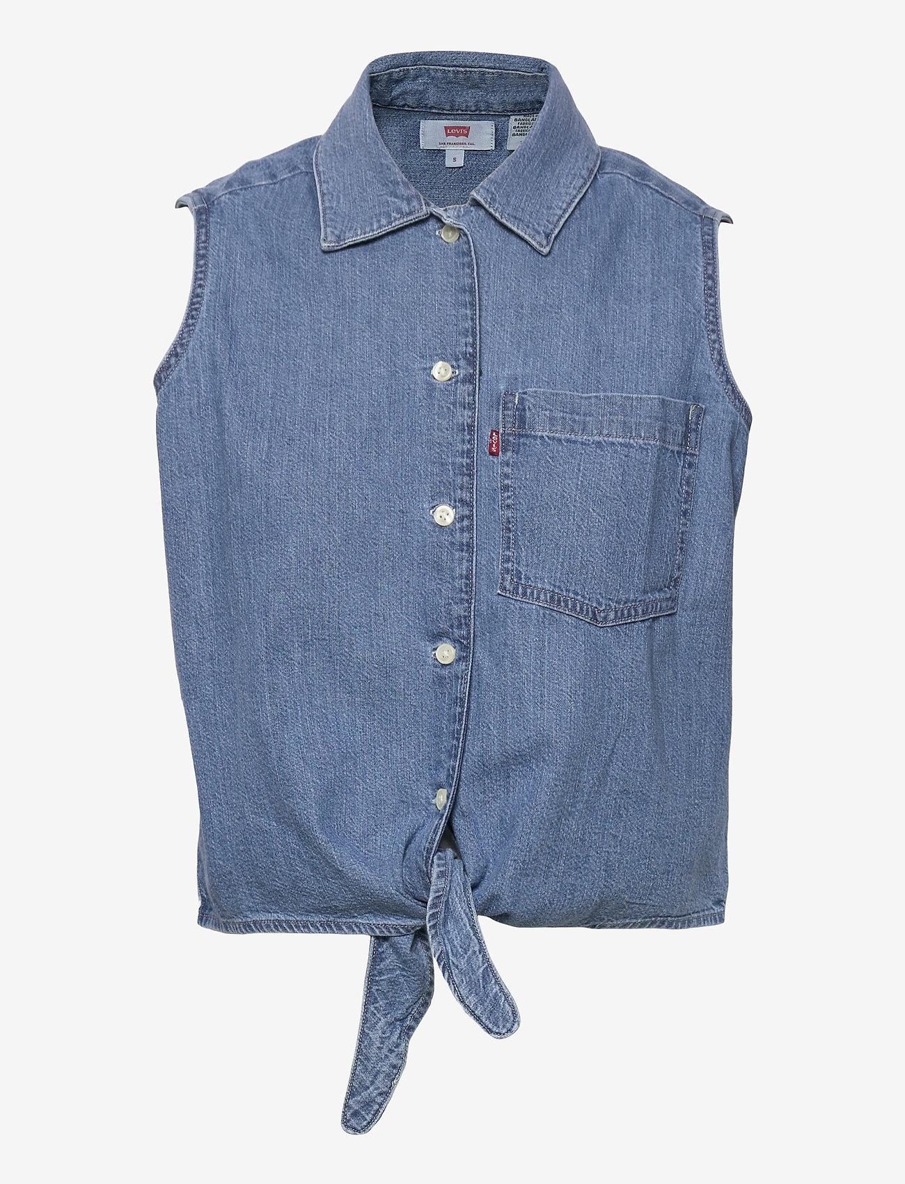 LEVI´S Women - RUMI BTTN SHIRT GDAY MATE - denimskjorter - med indigo - worn in - 0