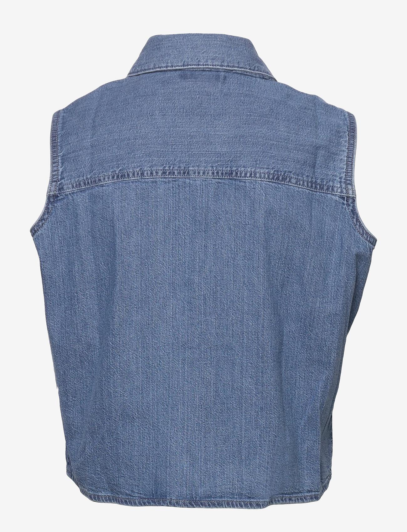 LEVI´S Women - RUMI BTTN SHIRT GDAY MATE - denimskjorter - med indigo - worn in - 1