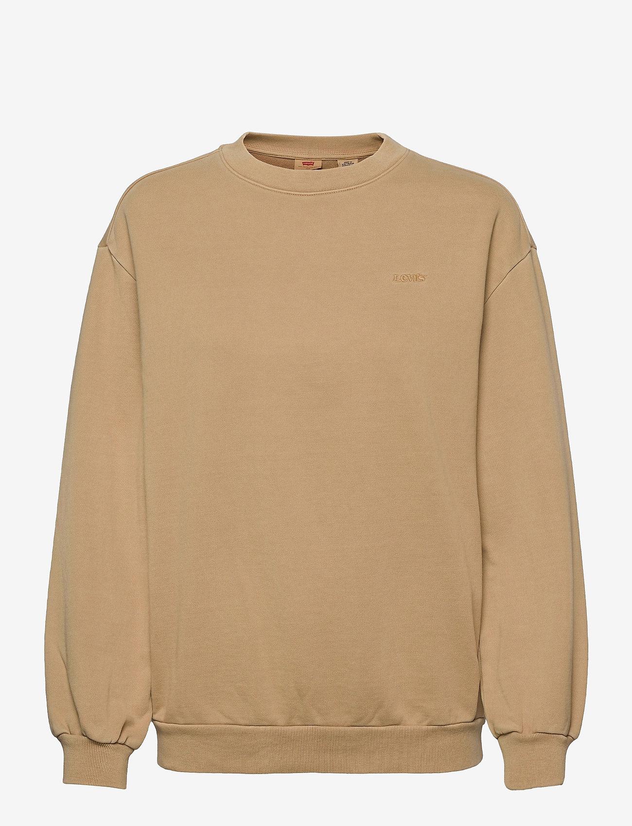LEVI´S Women - MELROSE SLOUCHY CREW INCENSE G - sweatshirts - neutrals - 0