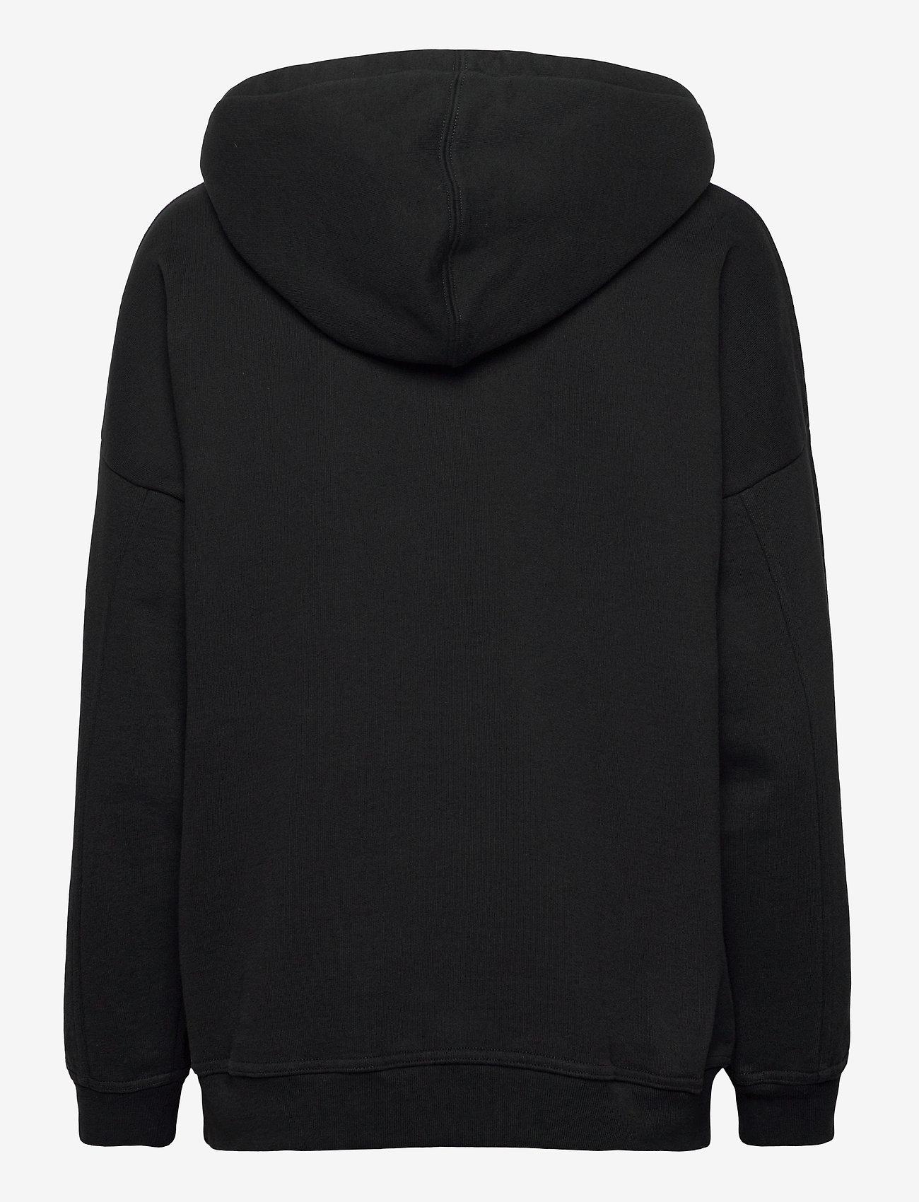 LEVI´S Women - GRAPHIC RIDER HOODIE HOODIE RI - sweatshirts & hættetrøjer - blacks - 1
