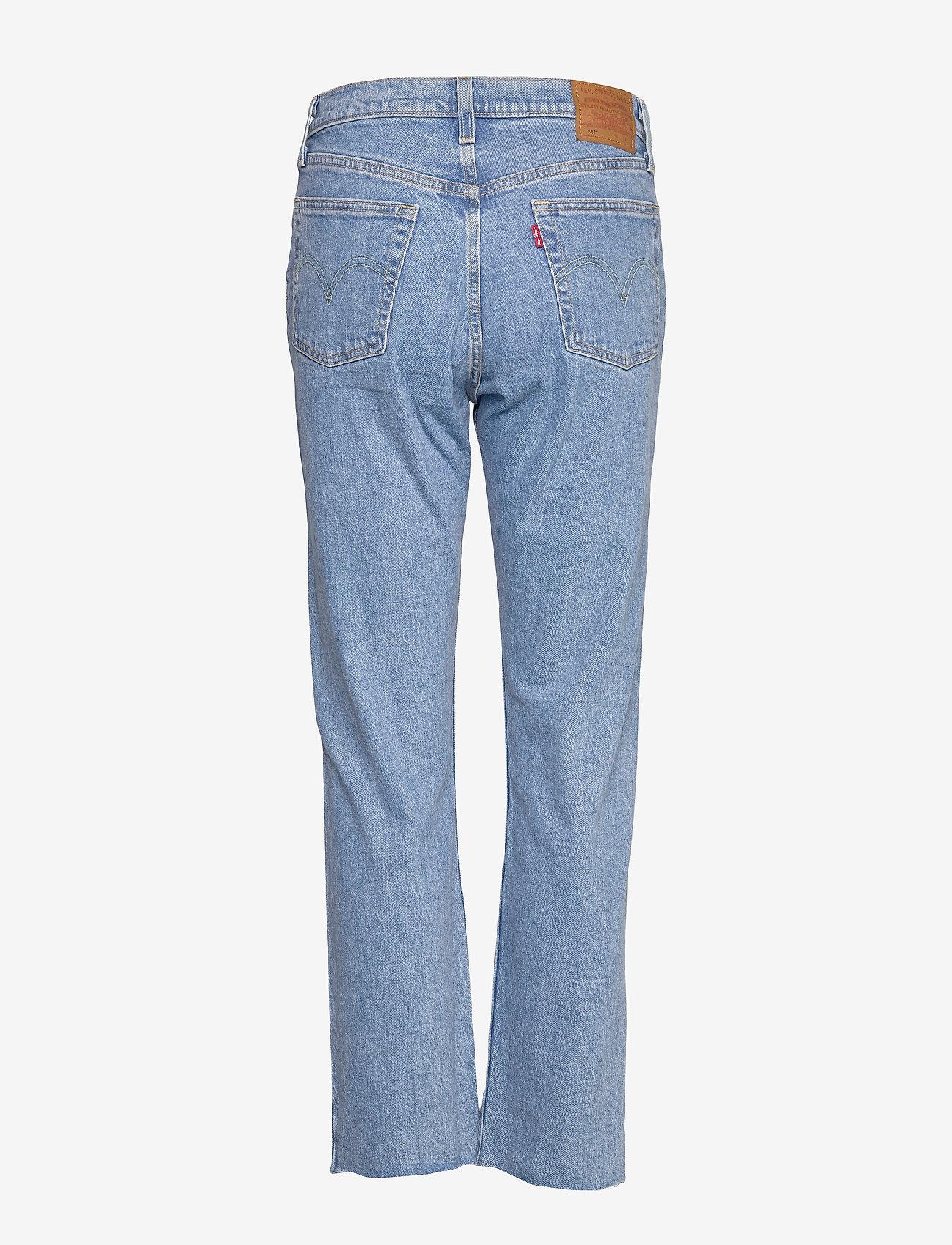 LEVI´S Women - 501 CROP TANGO BEATS - straight jeans - light indigo - worn in - 1