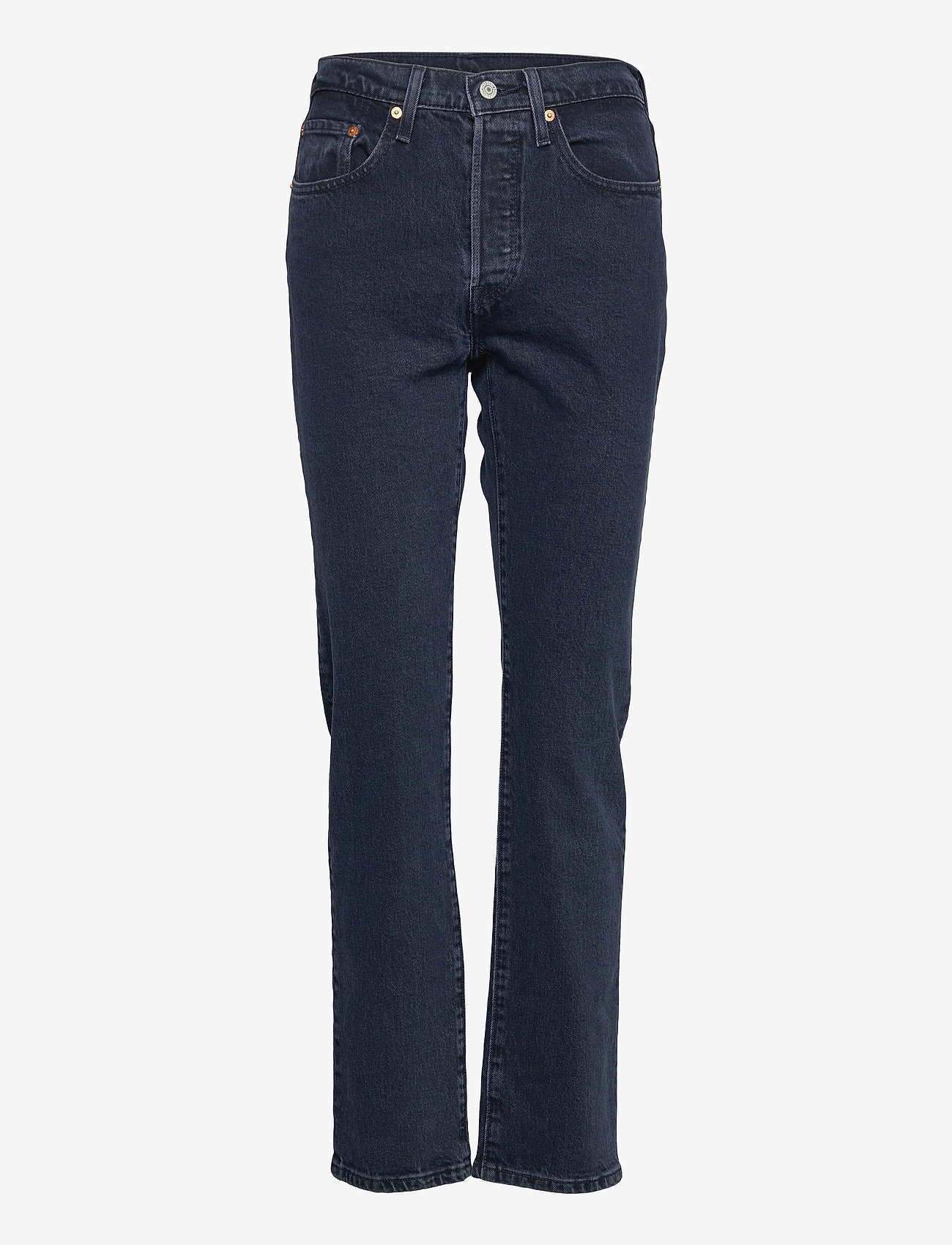 LEVI´S Women - 501 CROP DEEP DARK - straight regular - dark indigo - flat finish - 0