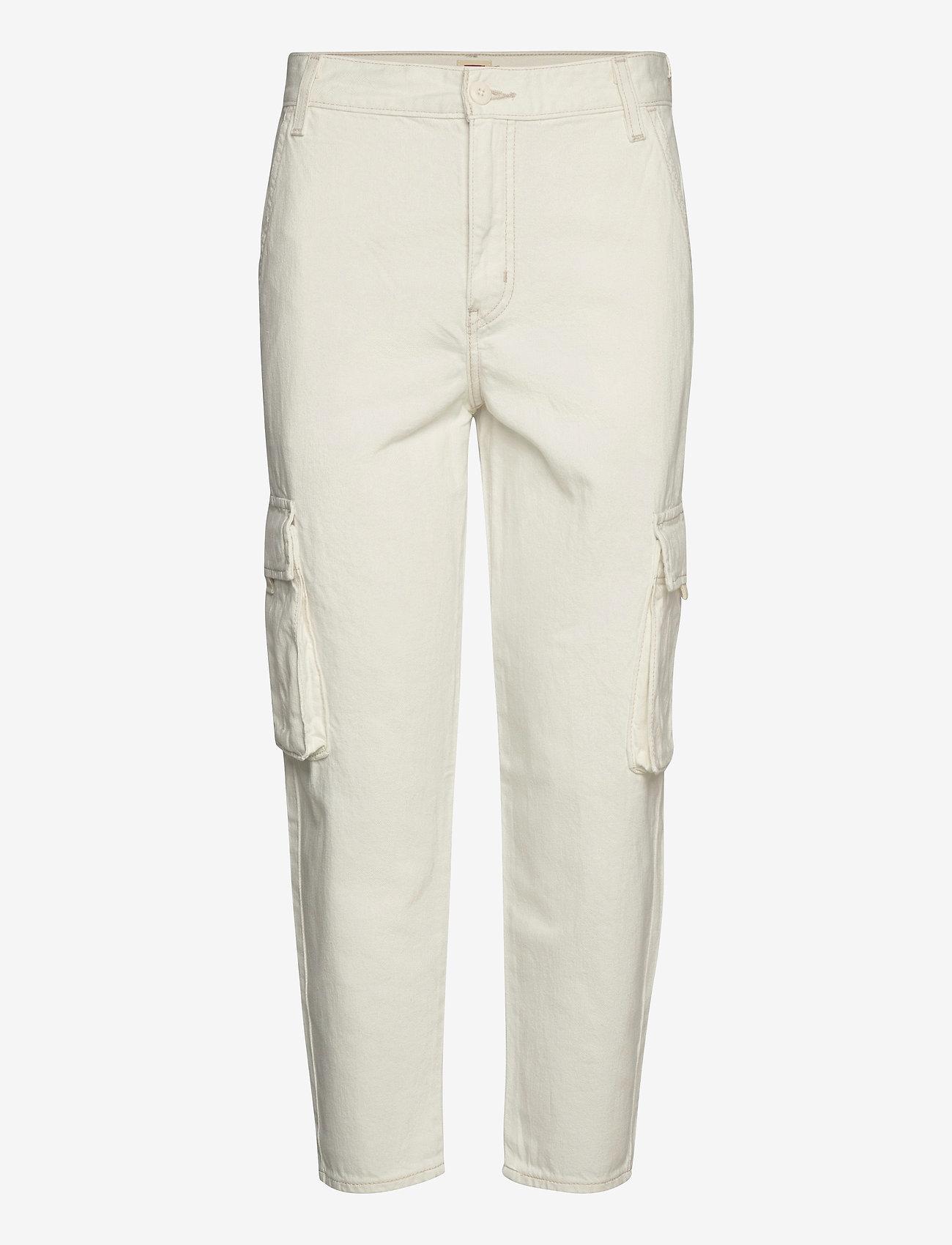 LEVI´S Women - LOOSE CARGO COOL ECRU - brede jeans - neutrals - 0