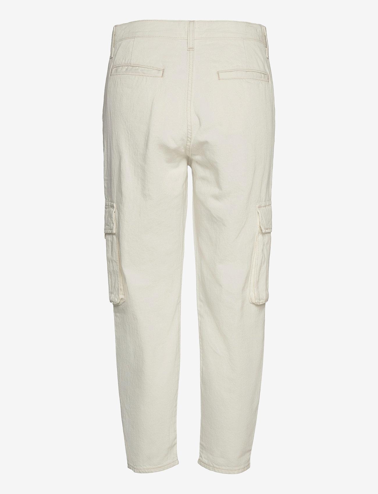 LEVI´S Women - LOOSE CARGO COOL ECRU - brede jeans - neutrals - 1