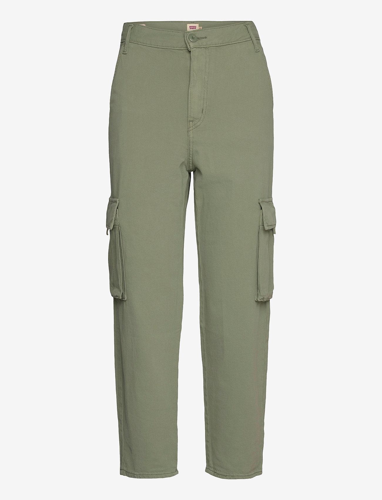 LEVI´S Women - LOOSE CARGO SOFT SURPLUS SEA S - brede jeans - greens - 0