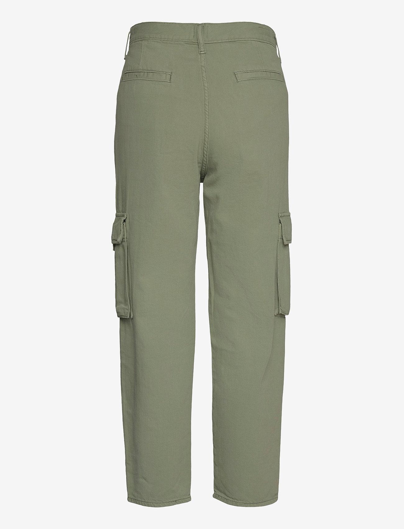 LEVI´S Women - LOOSE CARGO SOFT SURPLUS SEA S - brede jeans - greens - 1