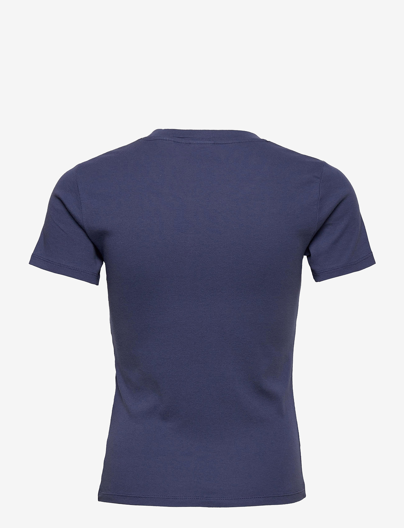 LEVI´S Women - SS RIB BABY TEE BLUE INDIGO - t-shirts - blues - 1