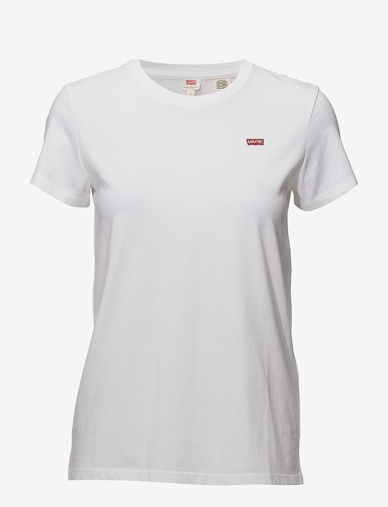 LEVI´S Women - PERFECT TEE WHITE CN100XX - t-shirts - white cn100xx - 0