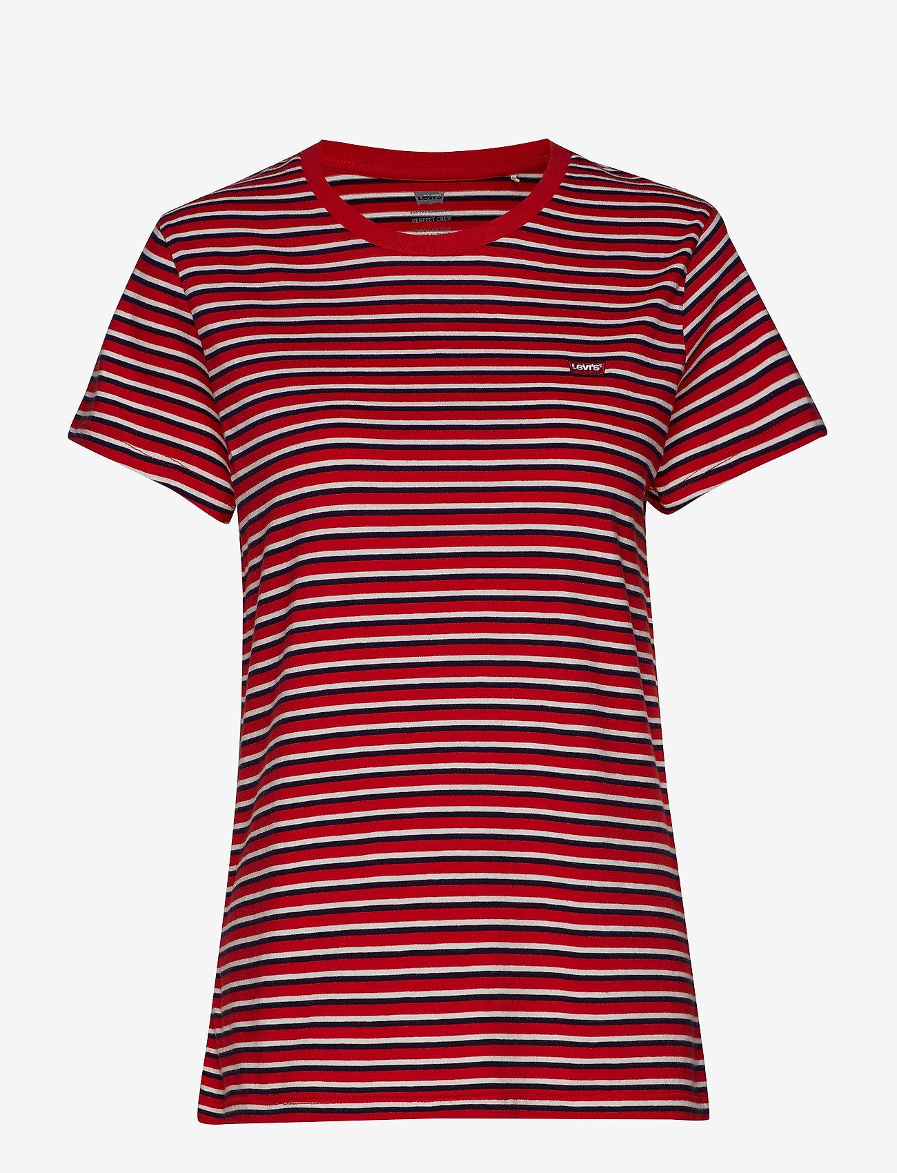 LEVI´S Women - PERFECT TEE KORONIS BRILLIANT - t-shirts à rayures - reds
