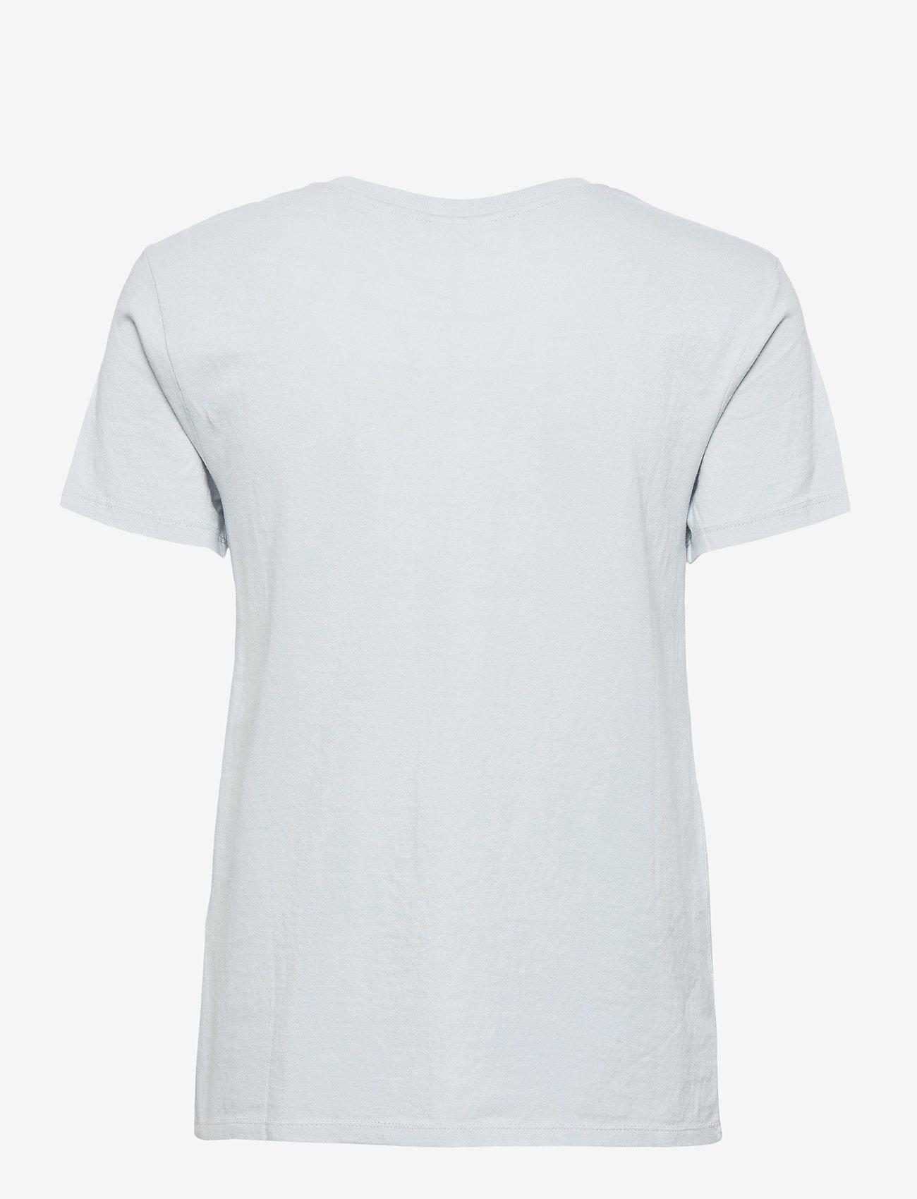 LEVI´S Women - PERFECT TEE PEARL GRAY - t-shirts - greys - 1