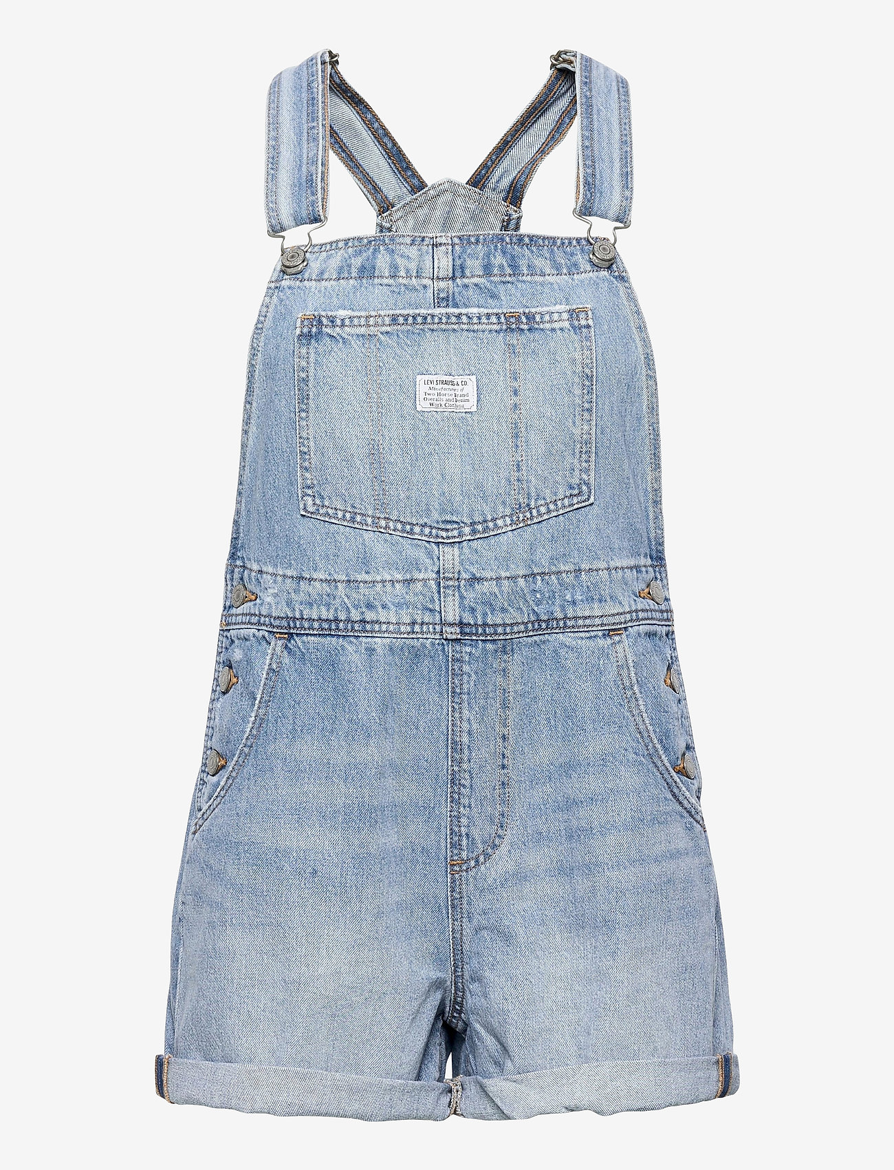 LEVI´S Women - VINTAGE SHORTALL OPEN SKIES - tøj - med indigo - worn in - 0