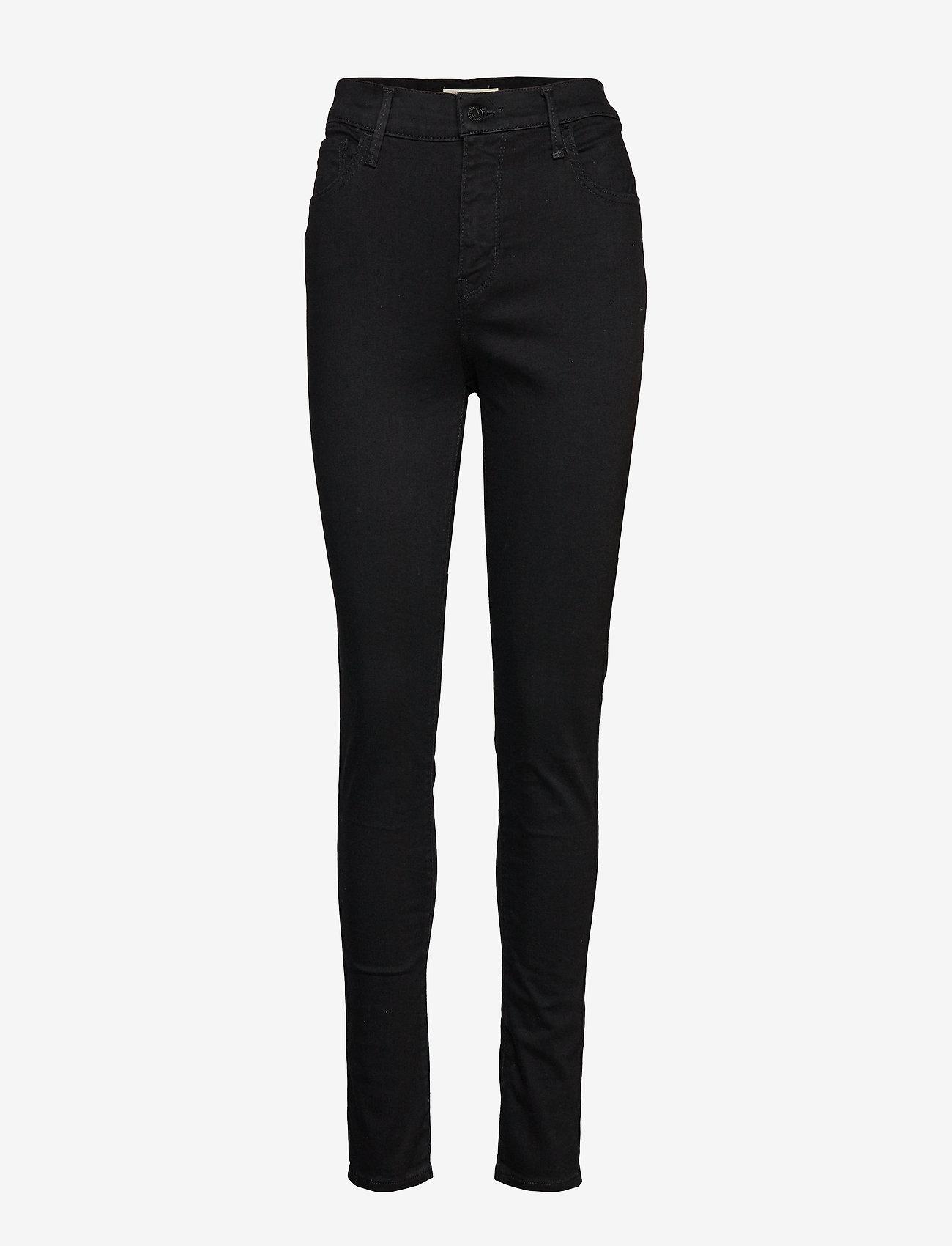LEVI´S Women - 720 HIRISE SUPER SKINNY BLACK - skinny jeans - blacks - 0