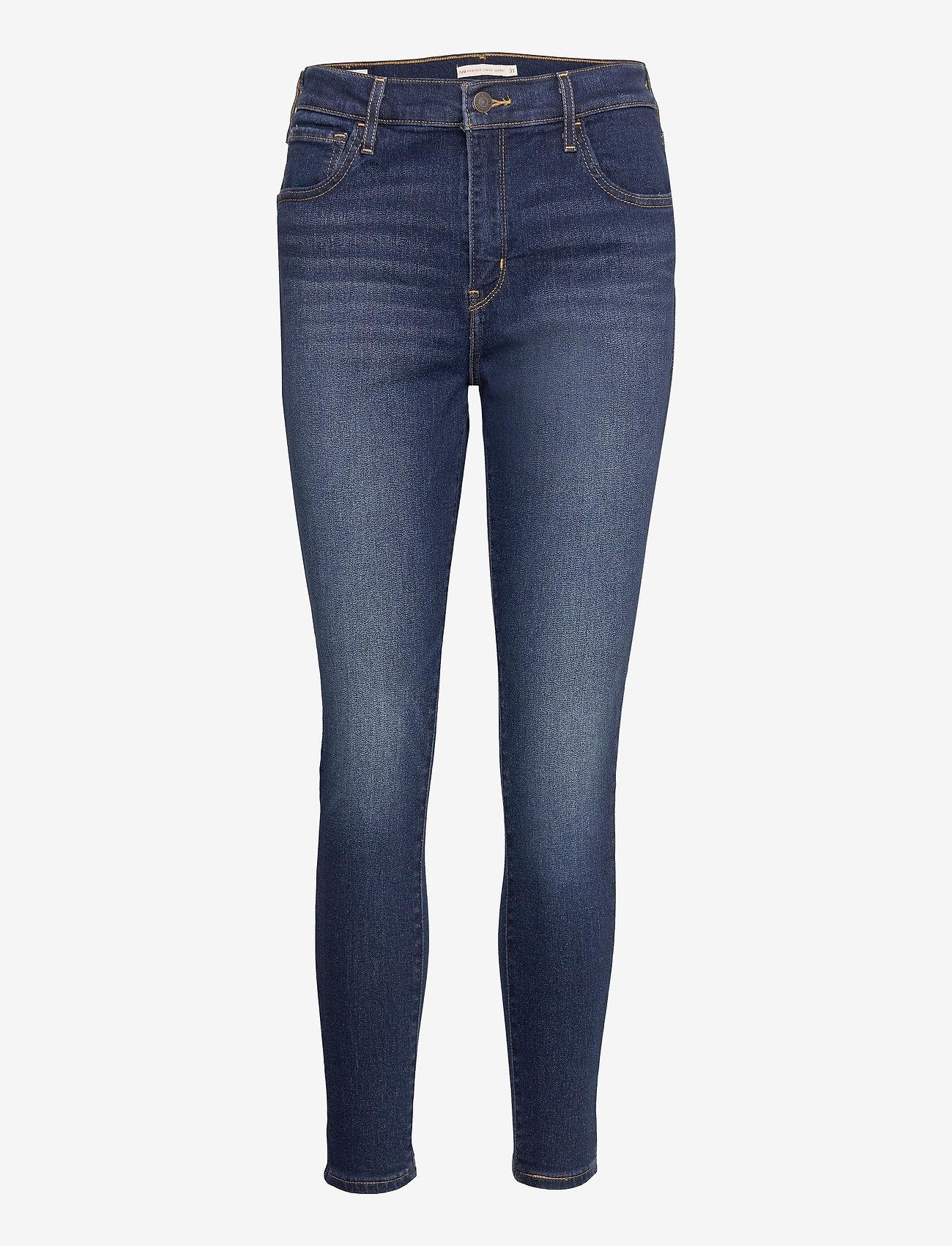 LEVI´S Women - 720 HIRISE SUPER SKINNY HIGH L - skinny jeans - med indigo - worn in - 0