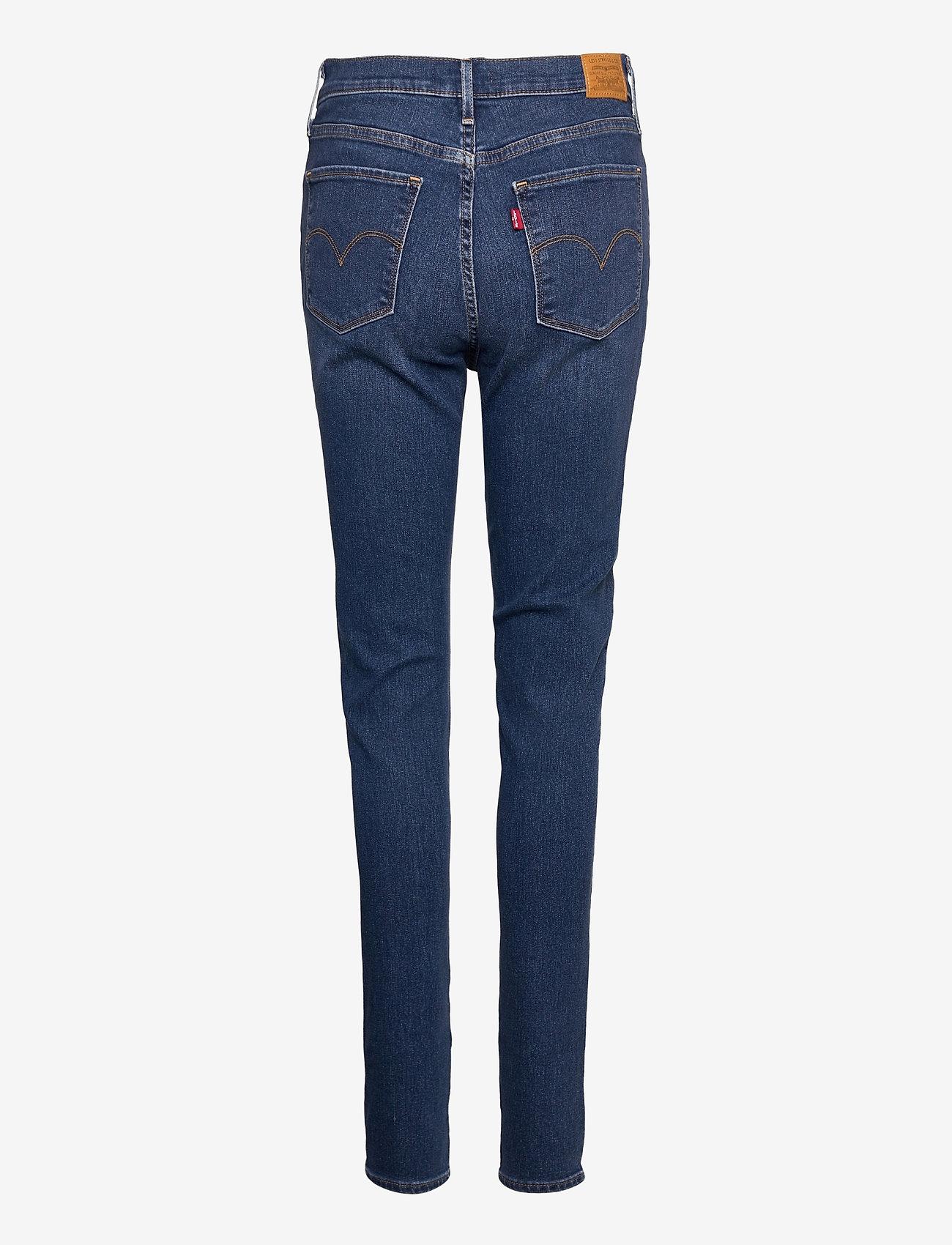 LEVI´S Women - 720 HIRISE SUPER SKINNY FIERY - slim jeans - med indigo - worn in - 1