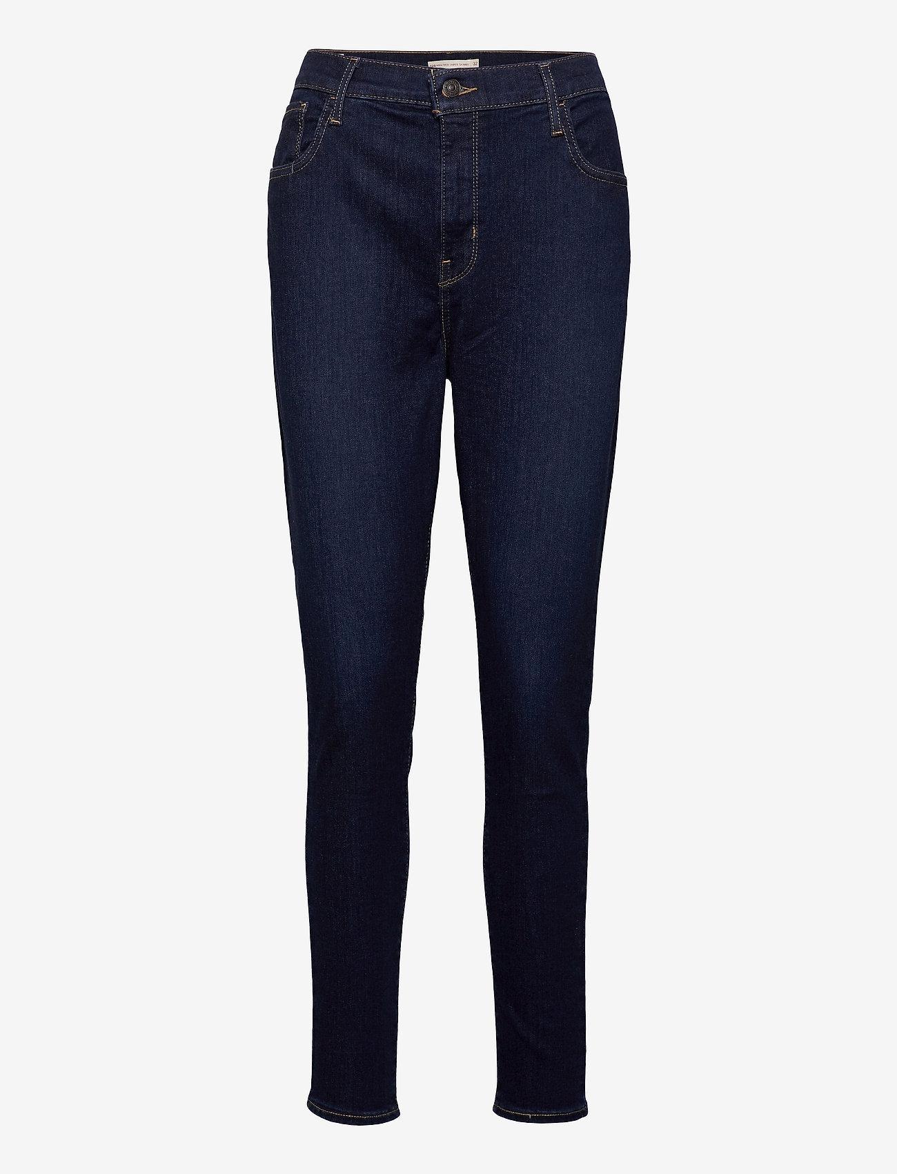LEVI´S Women - 720 HIRISE SUPER SKINNY ECHO B - skinny jeans - dark indigo - worn in - 0
