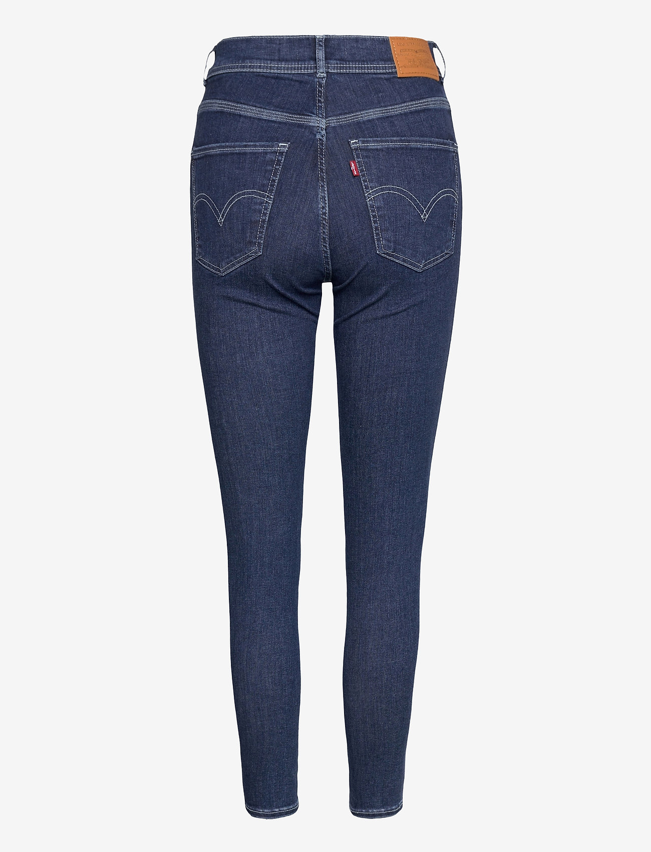 LEVI´S Women - MILE HIGH ANKLE DBL SHNK BYE F - skinny jeans - dark indigo - worn in - 1
