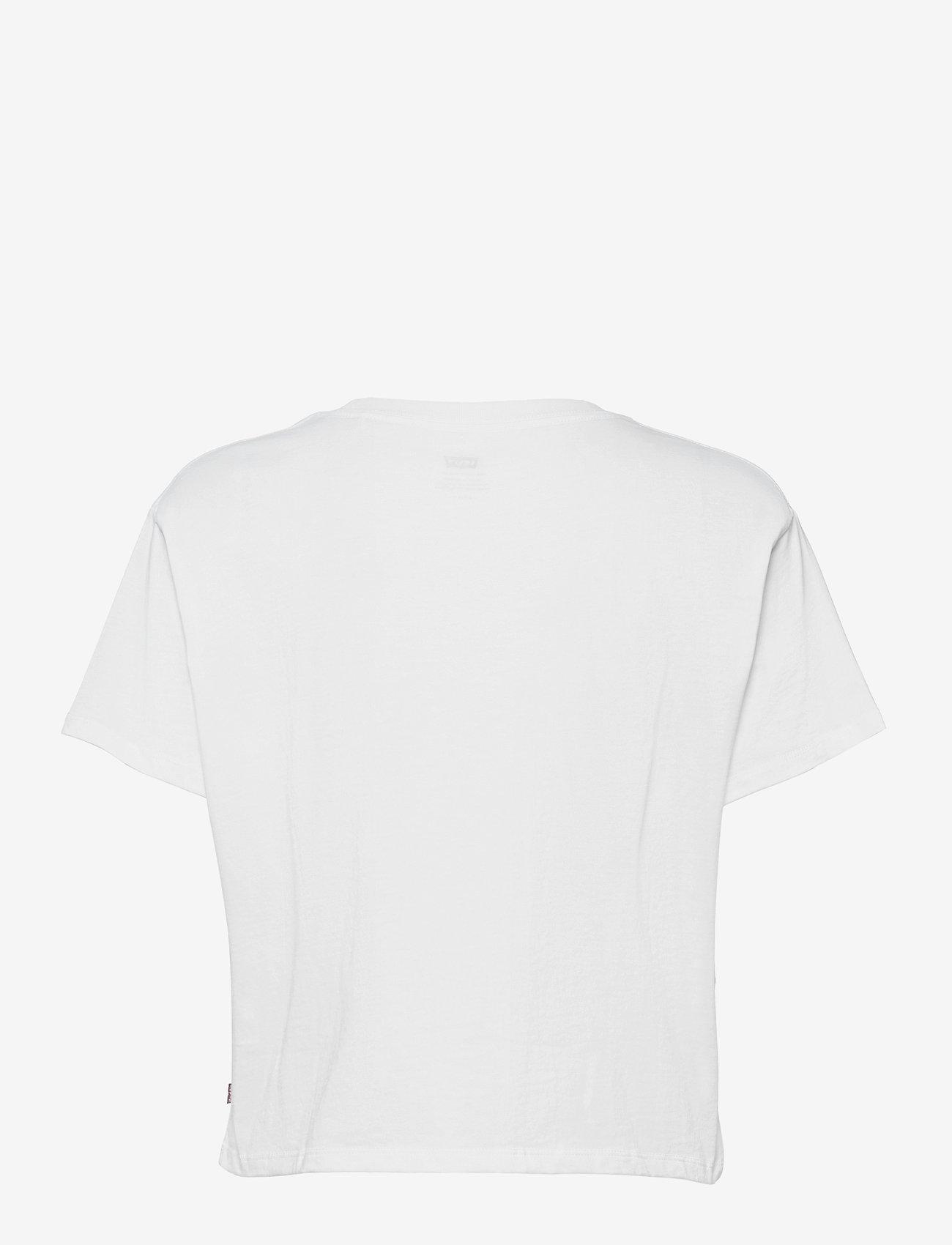 LEVI´S Women - GRAPHIC VARSITY TEE CIRCLE LOG - t-shirts - neutrals - 1