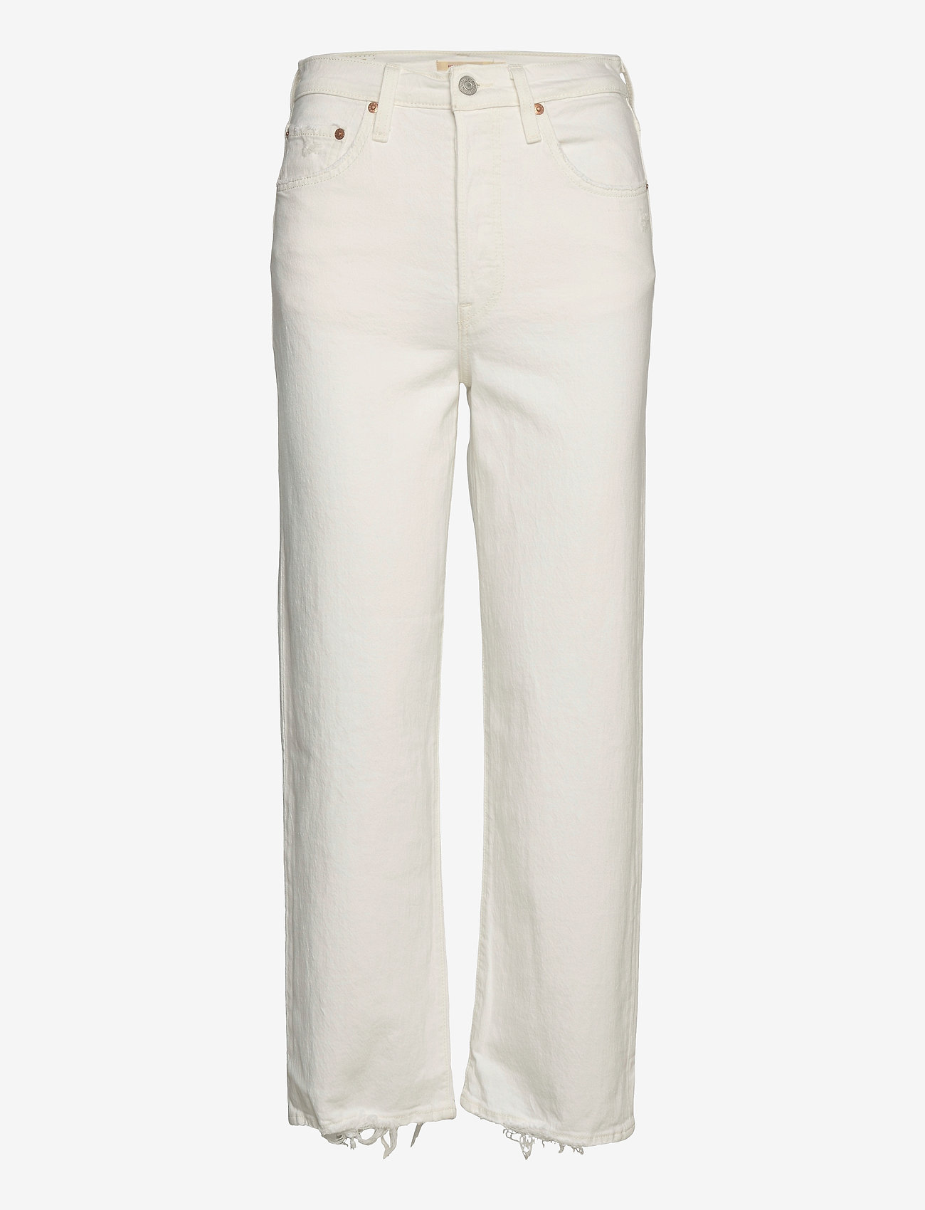 LEVI´S Women - RIBCAGE STRAIGHT ANKLE CLOUD O - straight regular - neutrals - 0