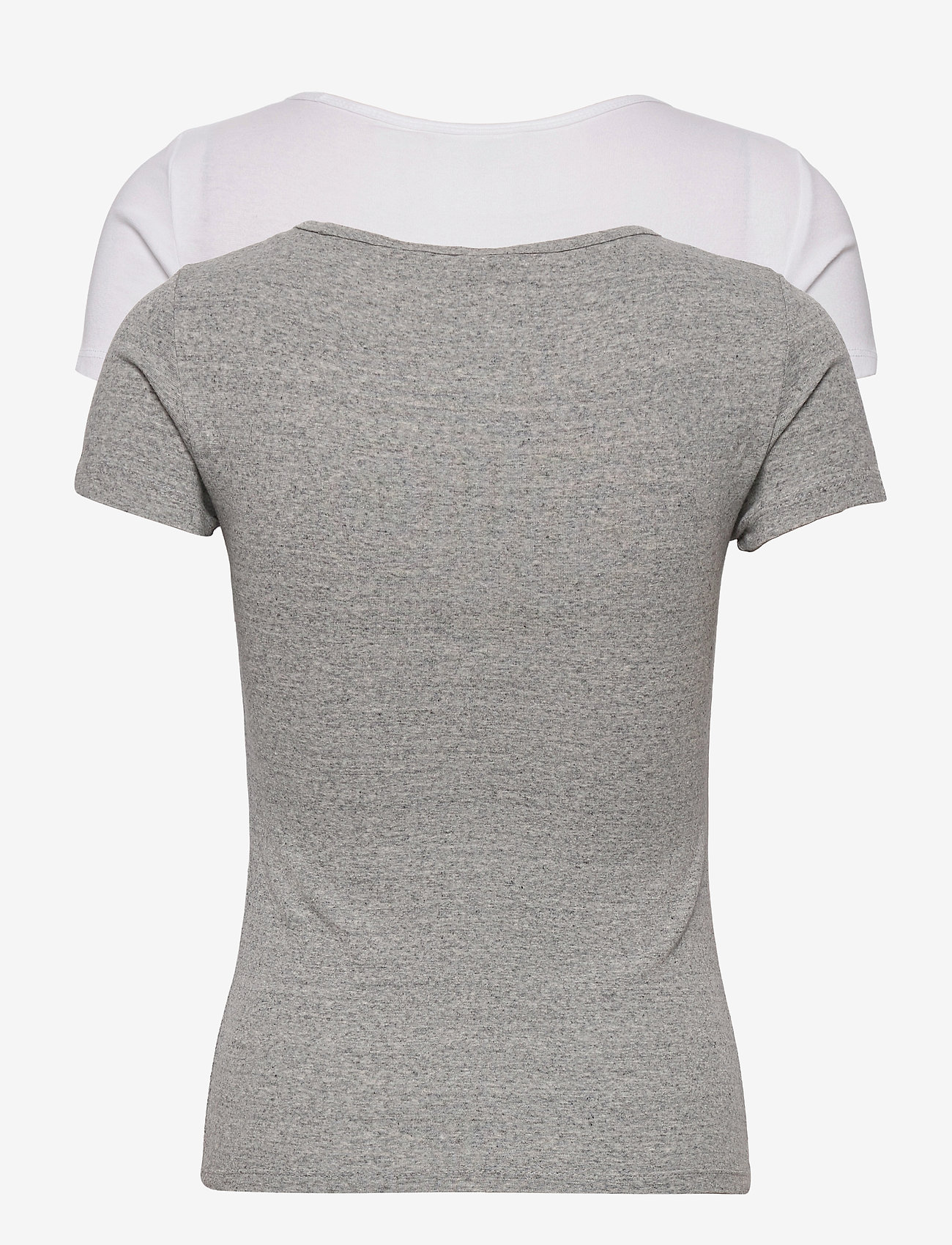 LEVI´S Women - 2PACK TEE 2 PACK TEE WHITE +/S - t-shirts - neutrals - 1