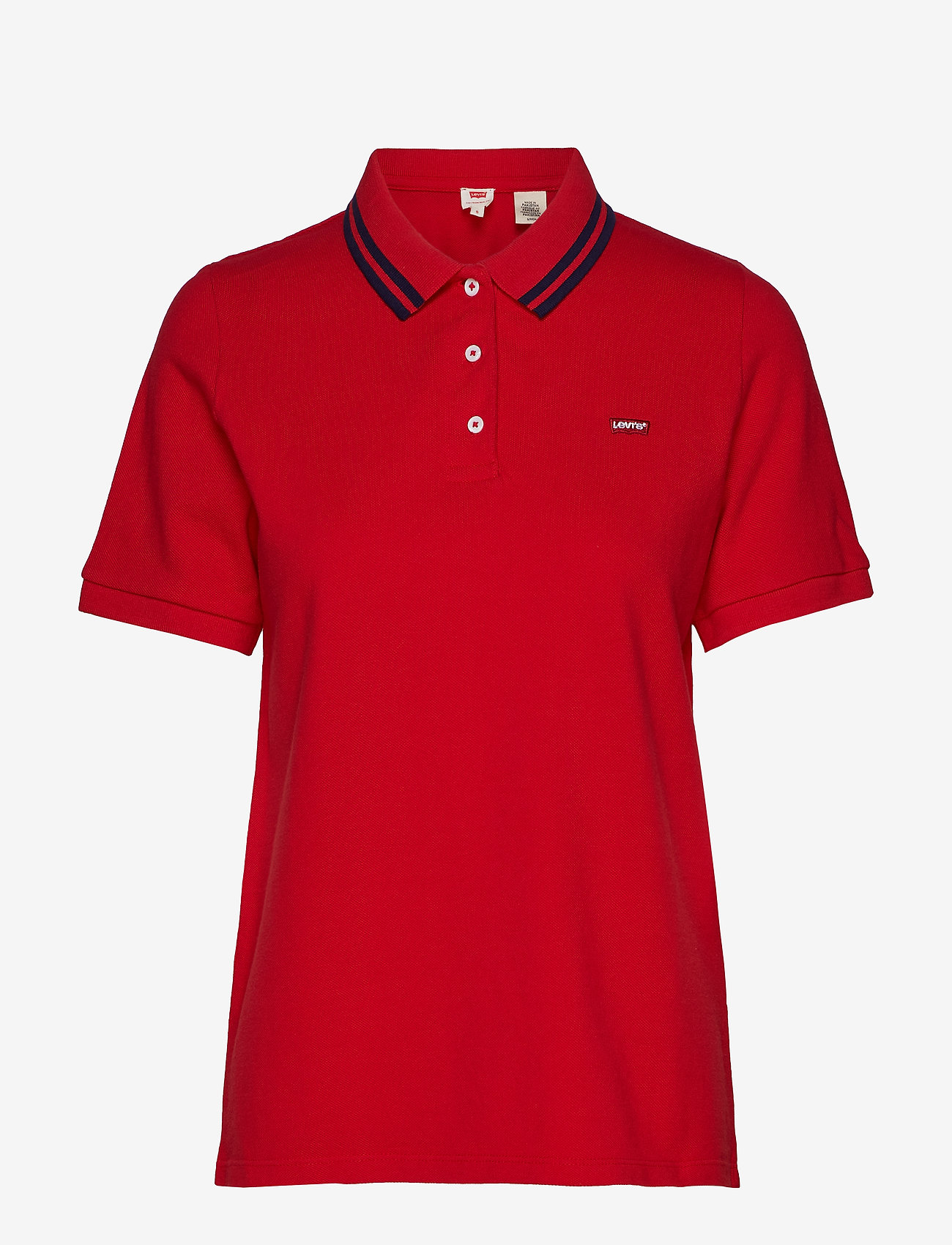 LEVI´S Women - ESSENTIAL POLO BRILLIANT RED - pikeepaidat - reds - 0