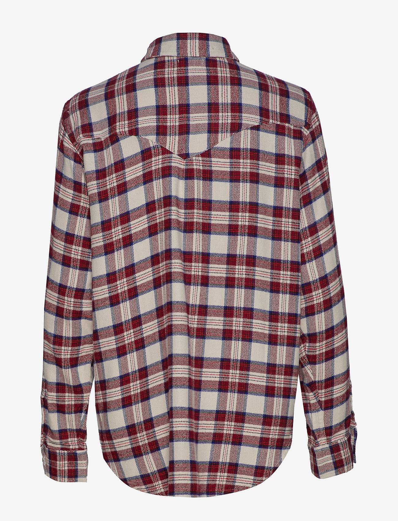 LEVI´S Women - DORI WESTERN SHIRT PATRIDGE HE - chemises à manches longues - multi-color