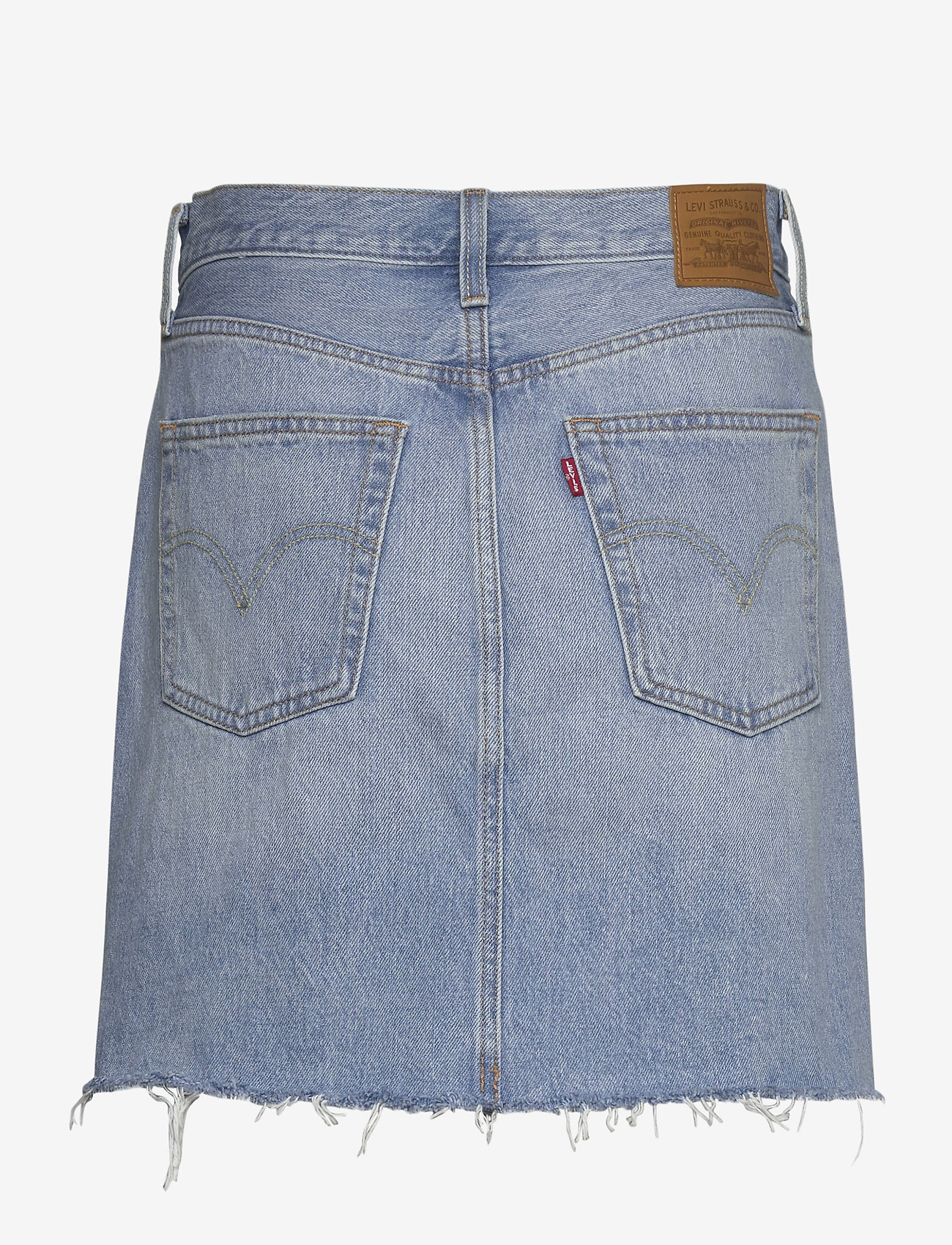 LEVI´S Women - HR DECON ICONIC BF SKIRT GATEW - denimnederdele - med indigo - flat finish - 1