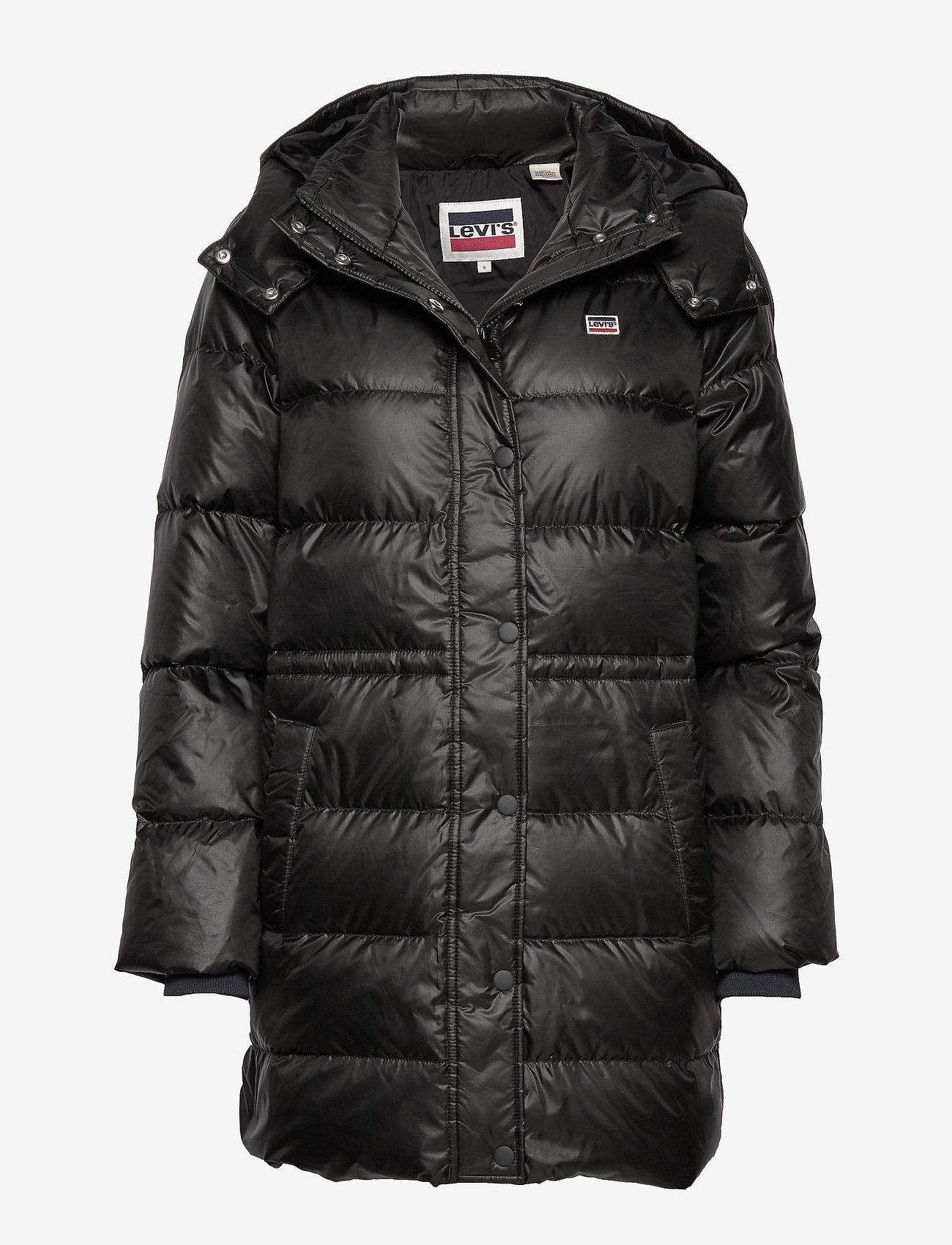 LEVI´S Women - KELLI DOWN PUFFER METEORITE - padded coats - blacks
