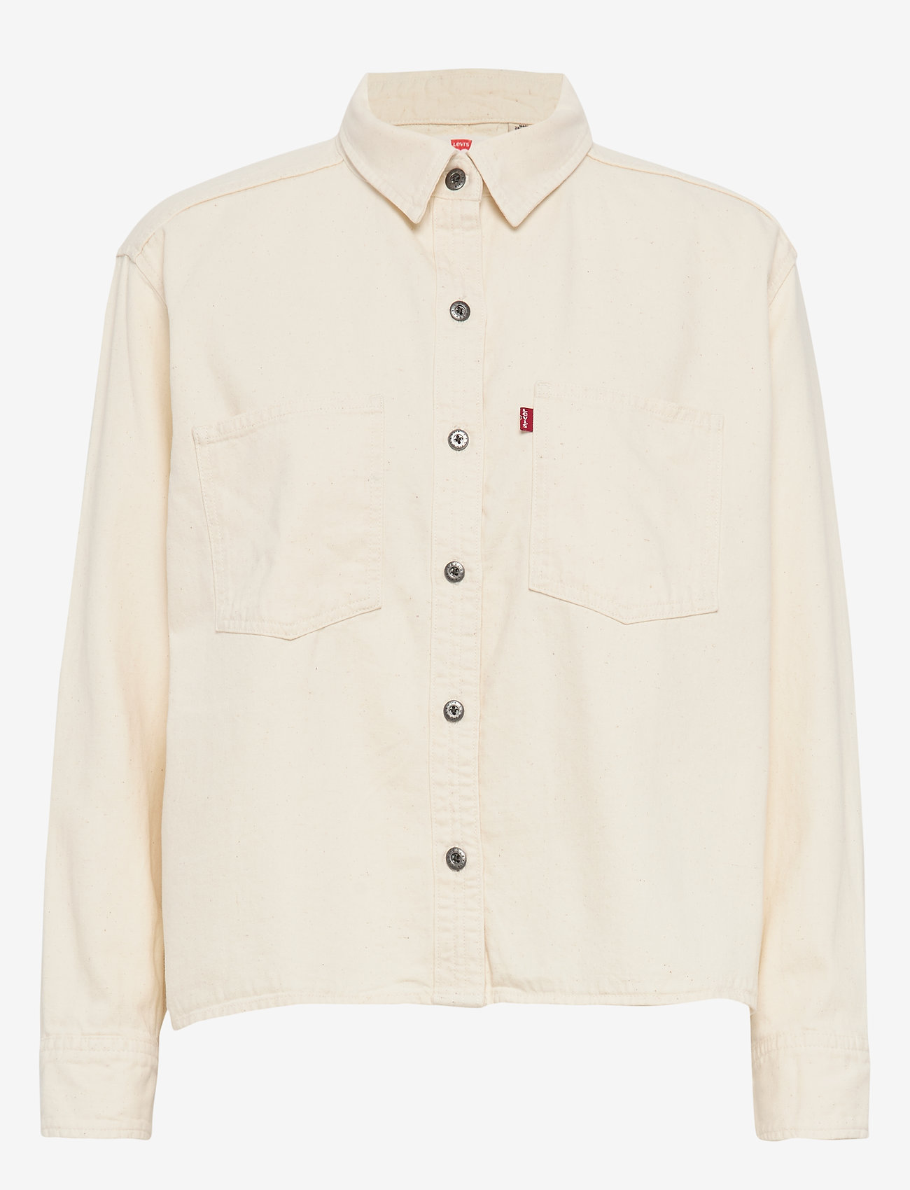 LEVI´S Women - GRACIE SHIRT ICY ECRU (1) - overshirts - neutrals - 0