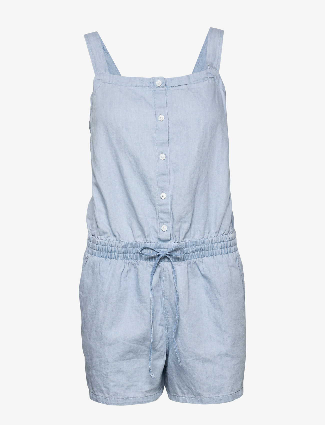 LEVI´S Women - AMELIA ROMPER MORNING BLUES - buksedragter - med indigo - worn in - 0