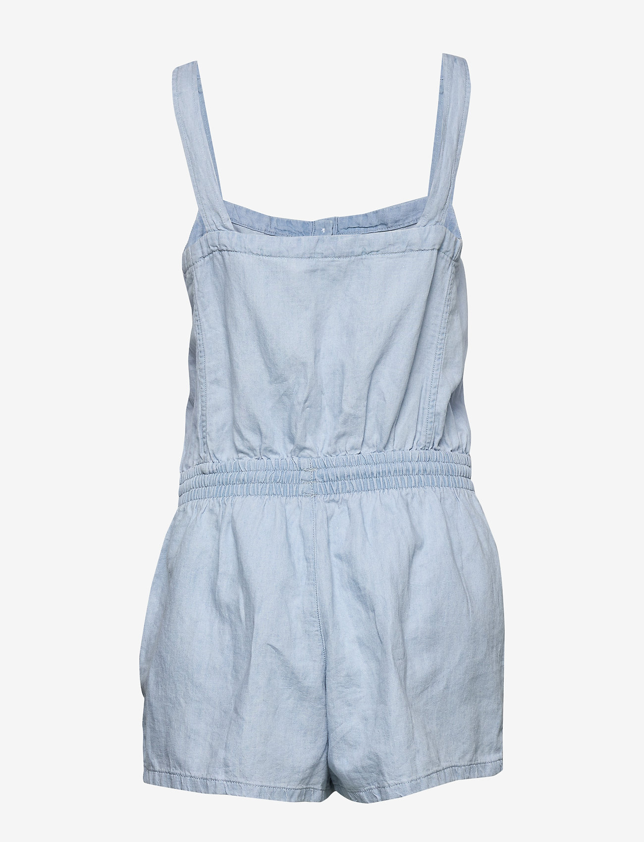 LEVI´S Women - AMELIA ROMPER MORNING BLUES - buksedragter - med indigo - worn in - 1