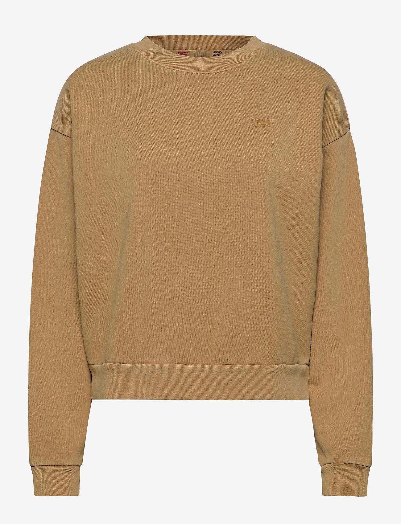 LEVI´S Women - DIANA CREW ICED COFFEE TIGHT L - sweatshirts - neutrals - 1