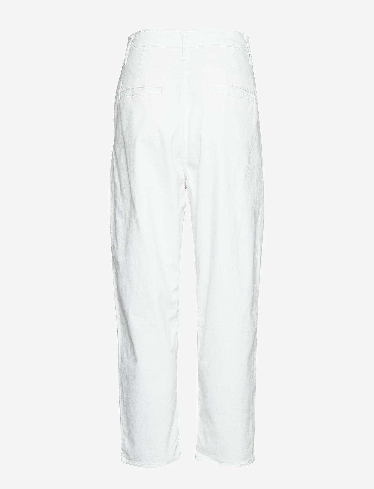LEVI´S Women - PLEATED BALLOON WHITE FINE TWI - bukser med lige ben - multi-color - 1
