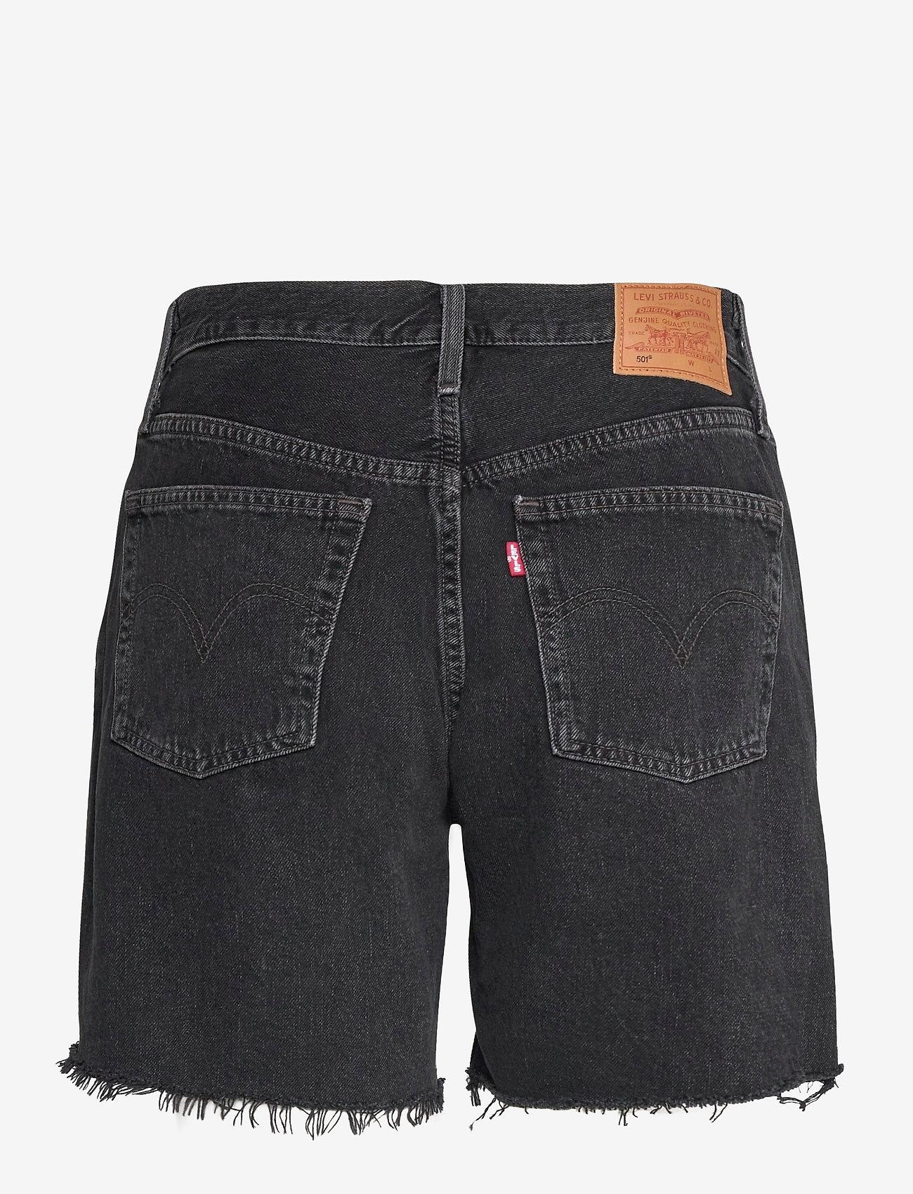 LEVI´S Women - 501 MID THIGH SHORT LUNAR BLAC - jeansshorts - blacks - 1